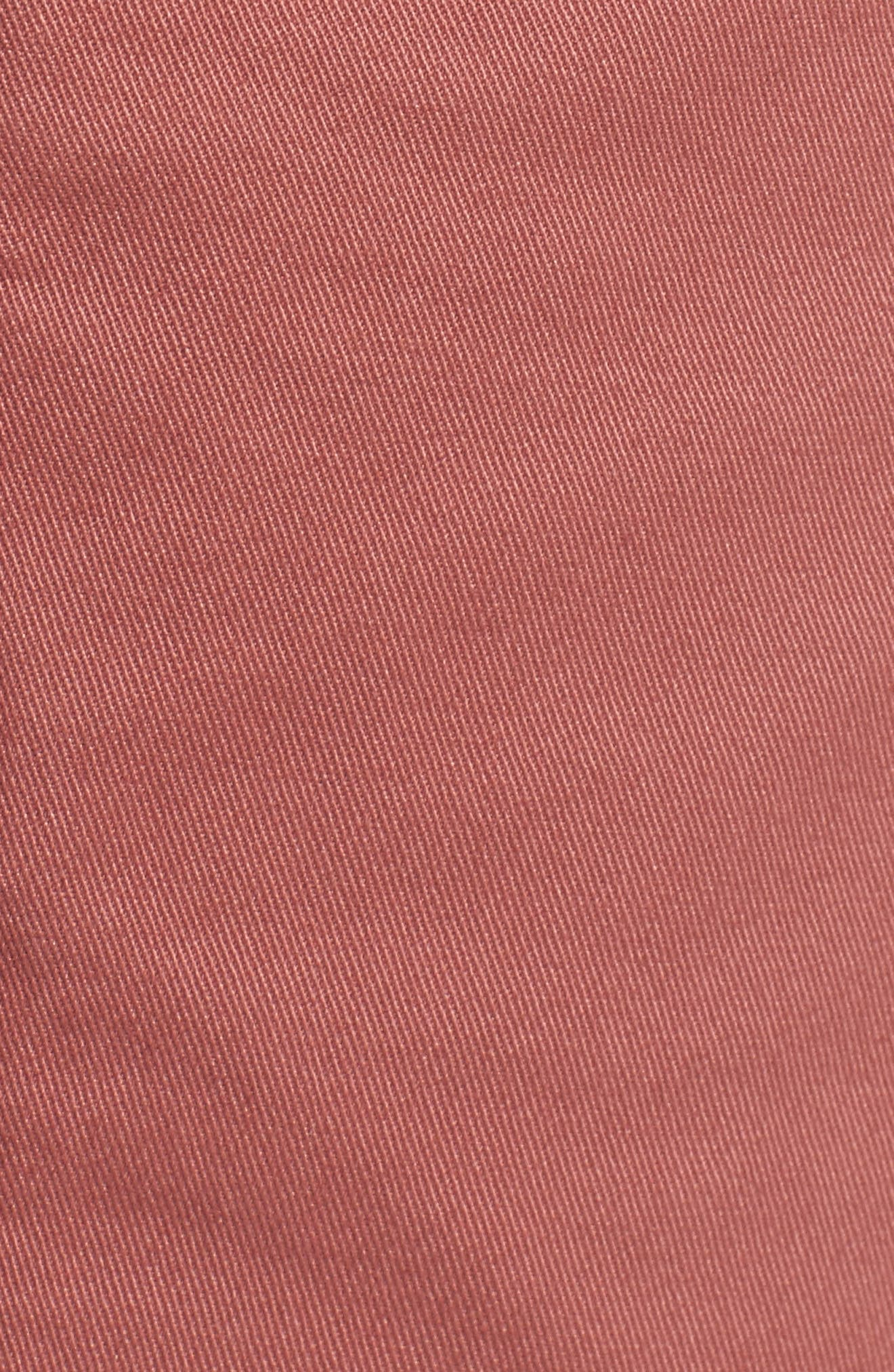Tailored Fit Washed Stretch Cotton Chinos,                             Alternate thumbnail 174, color,