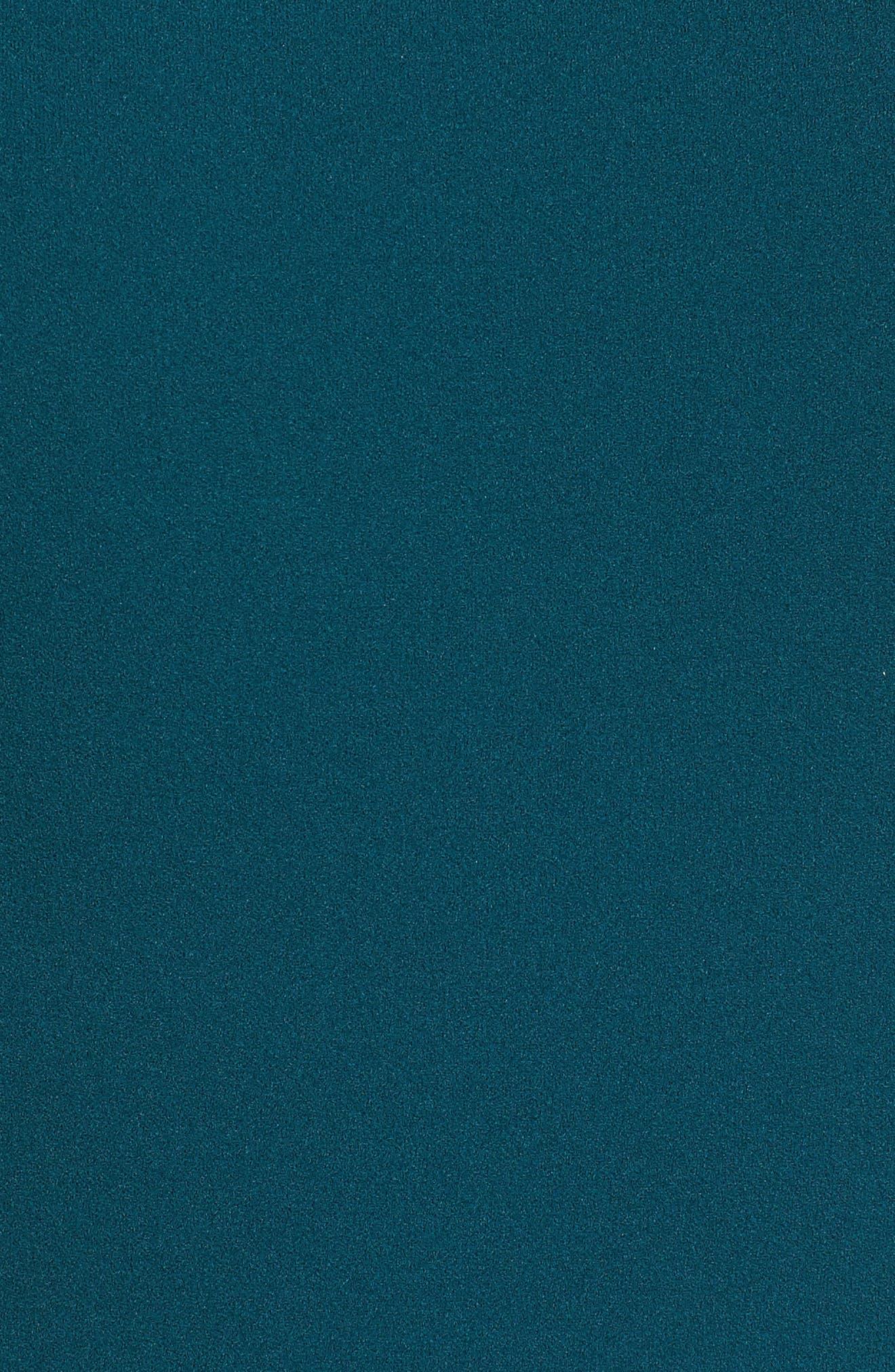 Crepe Midi Dress,                             Alternate thumbnail 5, color,                             399