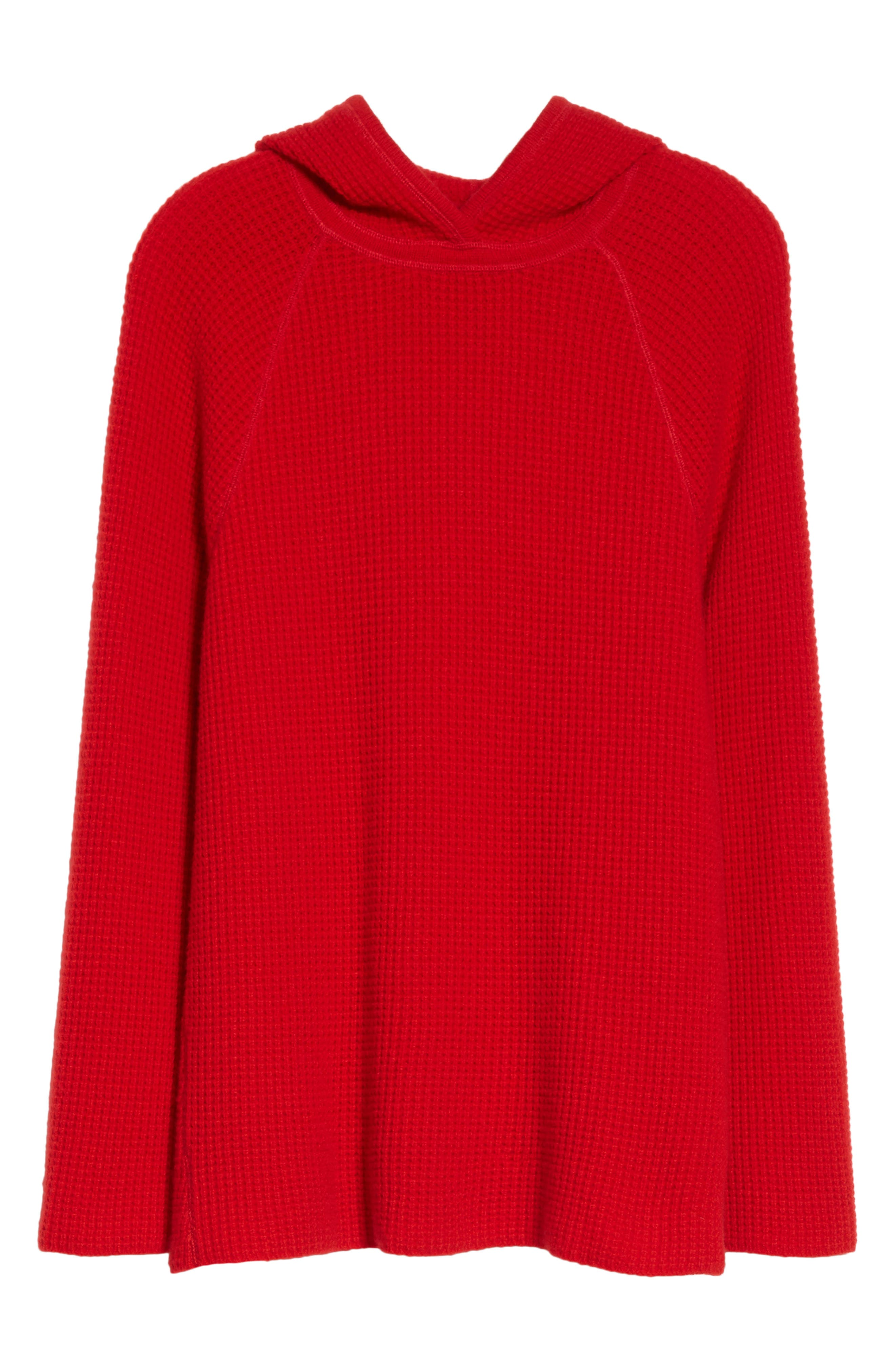 Tristan Thermal Cashmere Hoodie,                             Alternate thumbnail 6, color,                             622