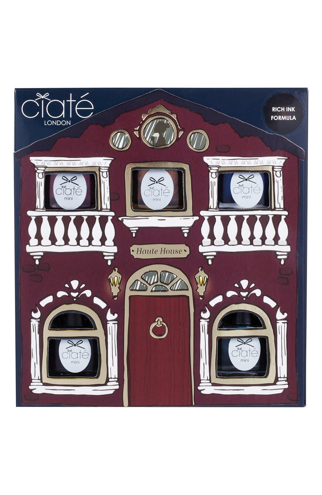 CIATÉ,                             'Haute House' Paint Pot Collection,                             Alternate thumbnail 3, color,                             000