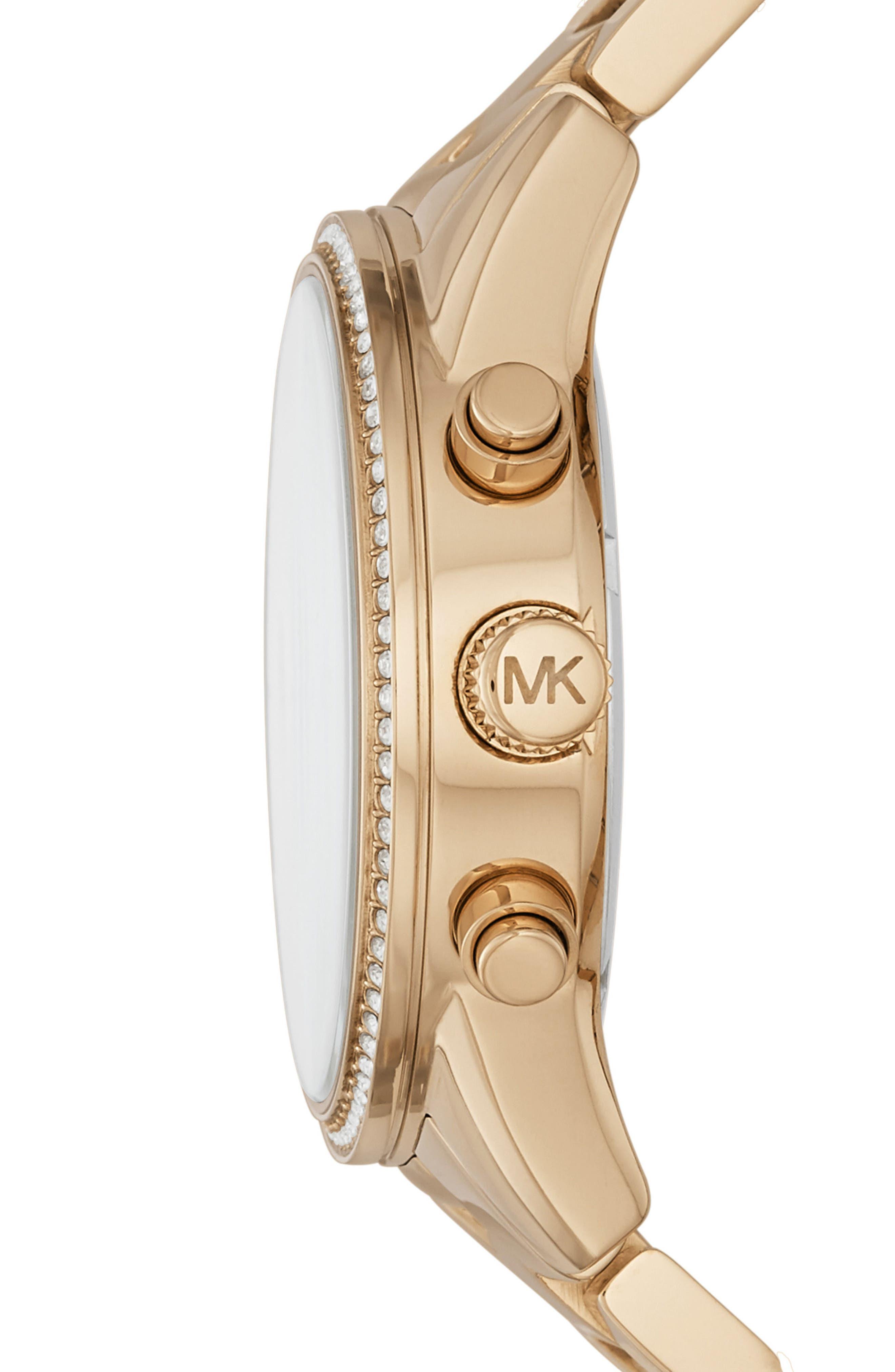Ritz Chronograph Bracelet Watch, 37mm,                             Alternate thumbnail 11, color,