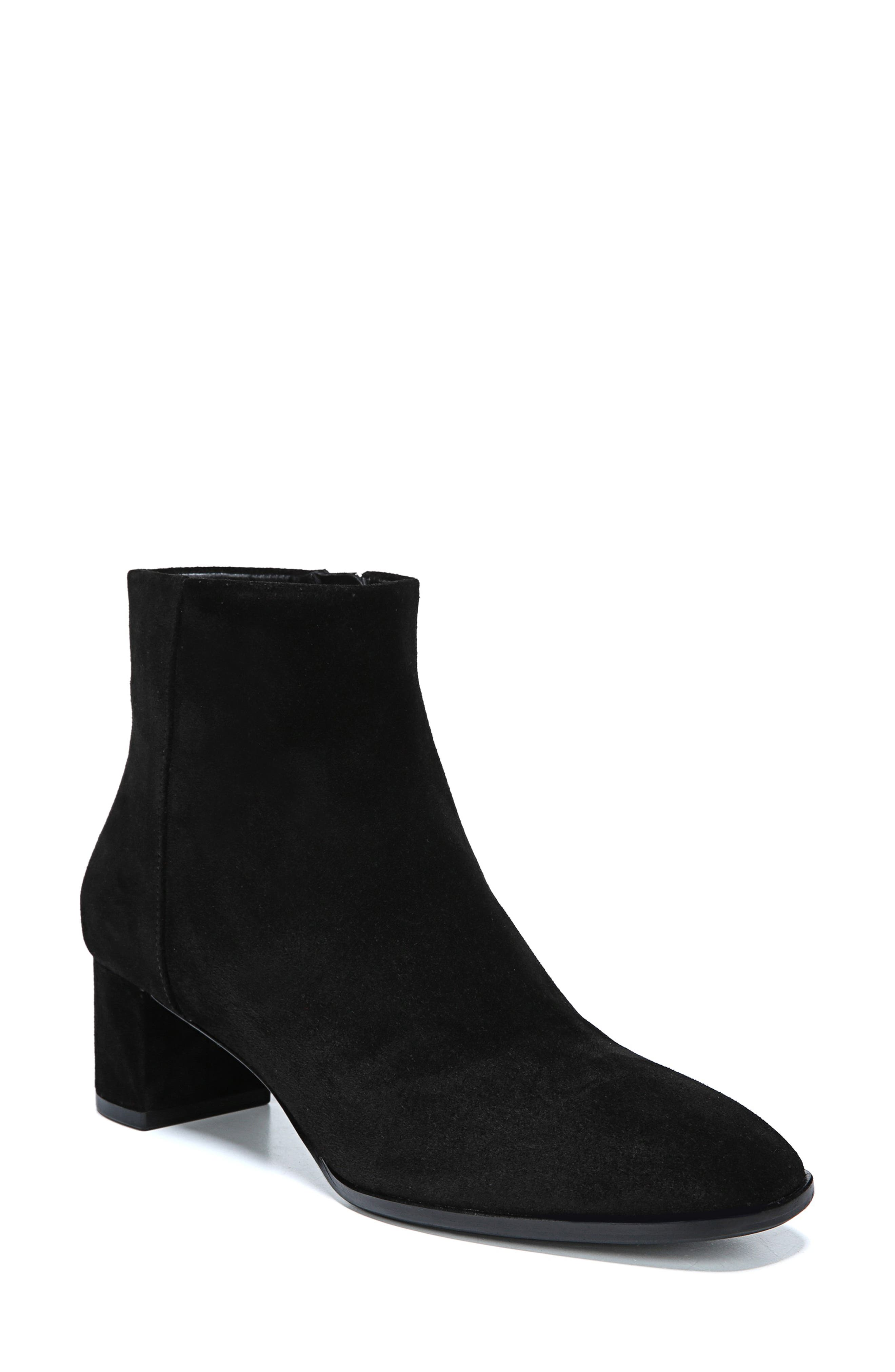 Vail Bootie,                         Main,                         color, BLACK SUEDE