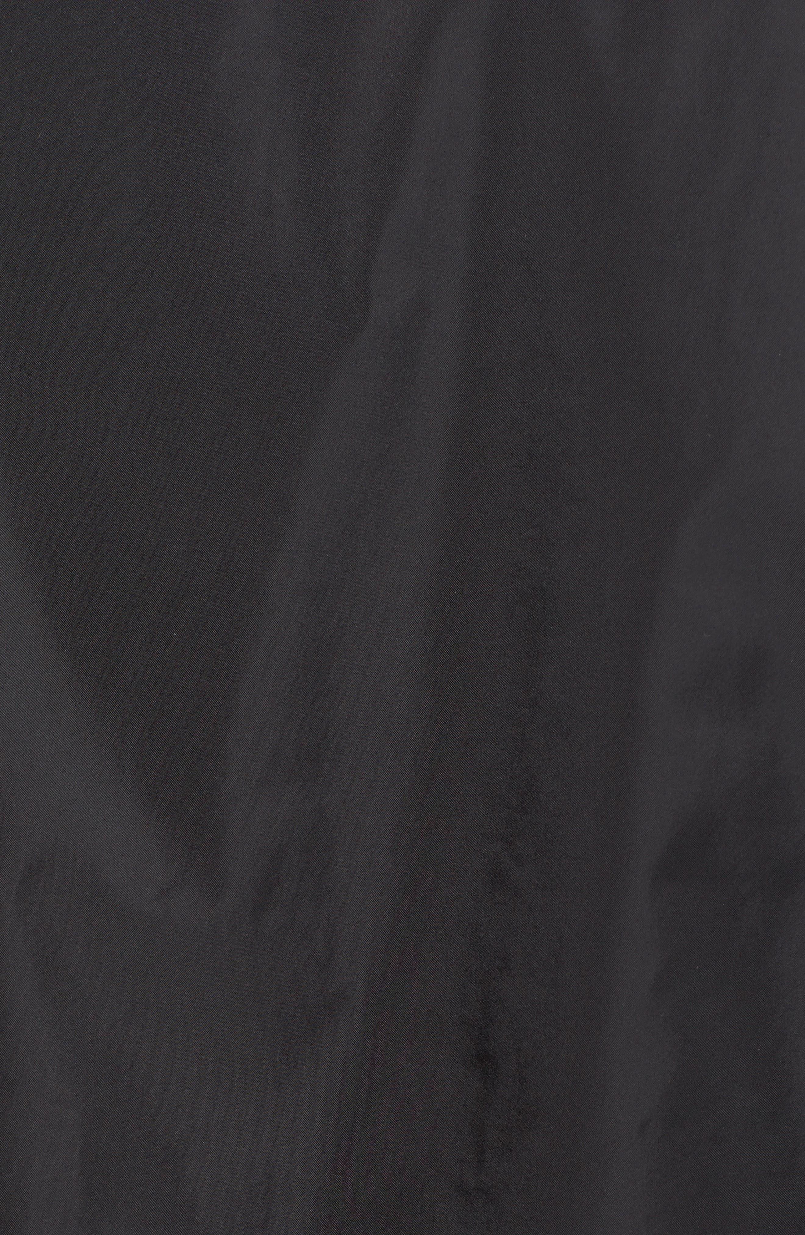 Birch Bay Water Resistant Jacket,                             Alternate thumbnail 5, color,                             BLACK