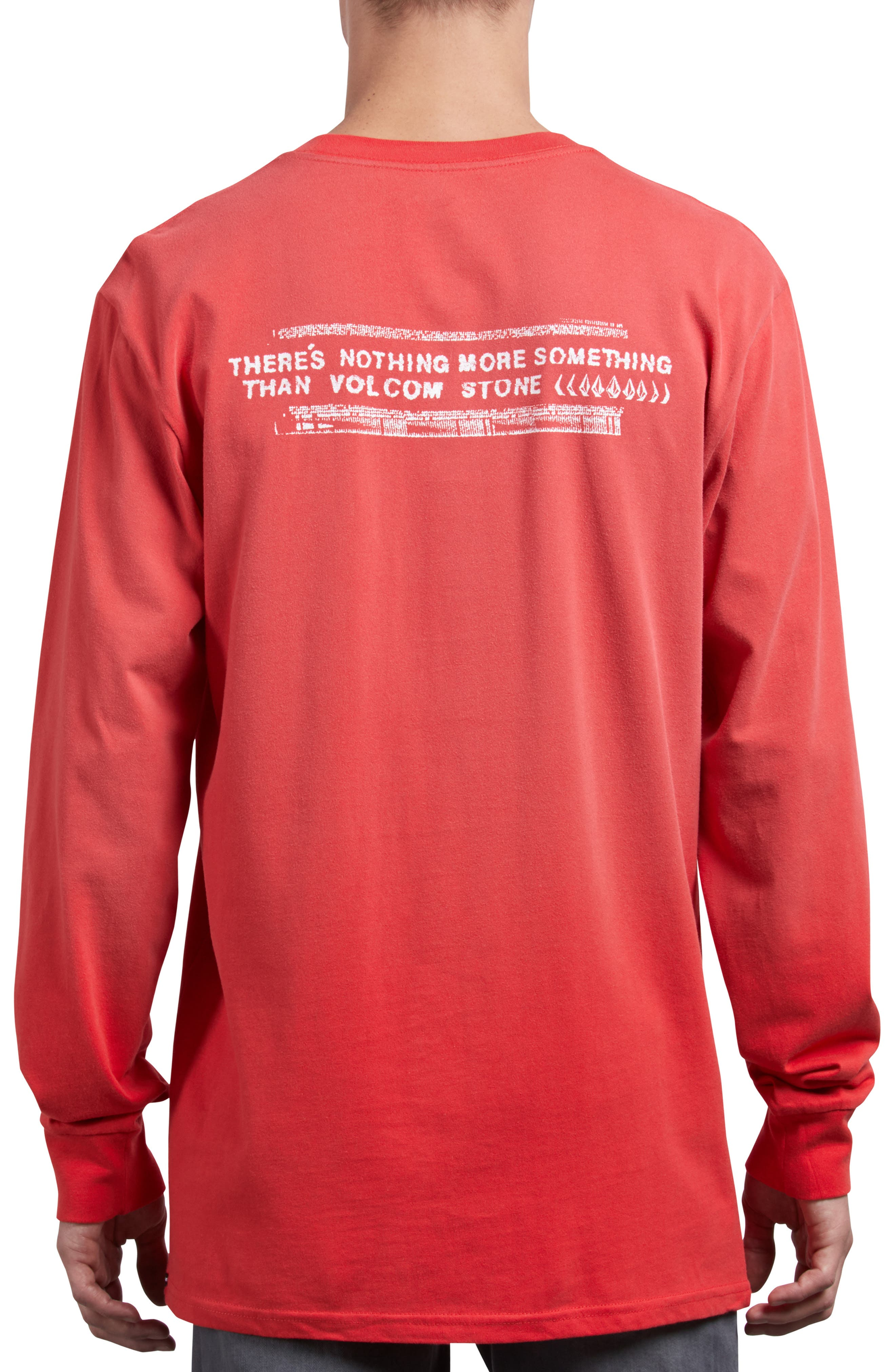 Stone Cycle Long Sleeve T-Shirt,                             Alternate thumbnail 2, color,                             SPARK RED