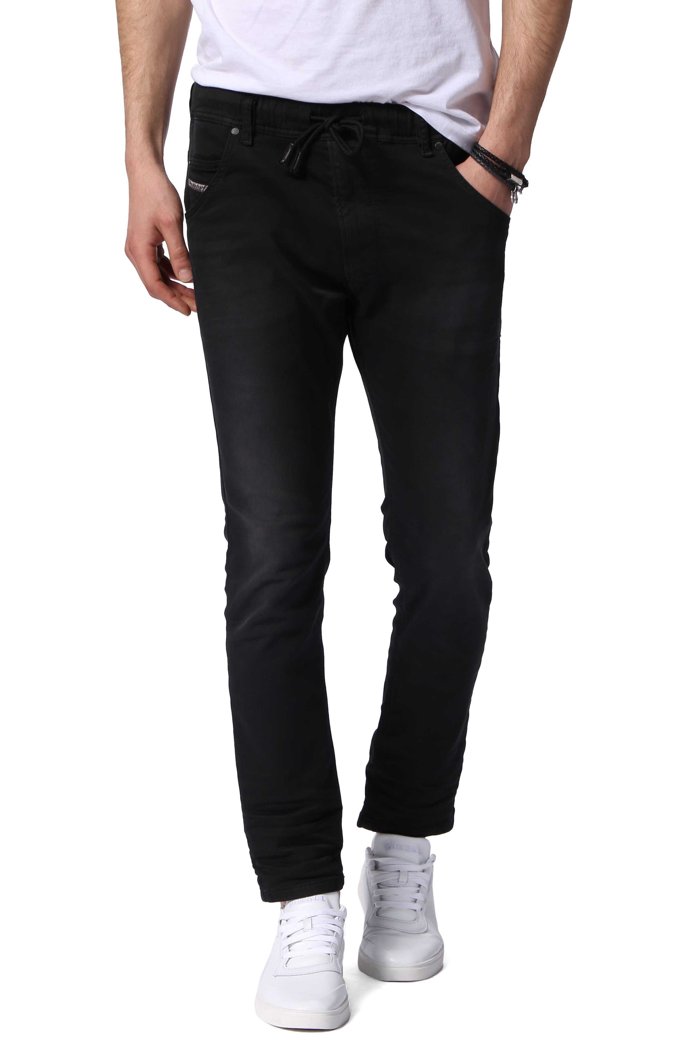 Krooley Skinny Slouchy Jogger Jeans,                             Main thumbnail 1, color,                             0670M