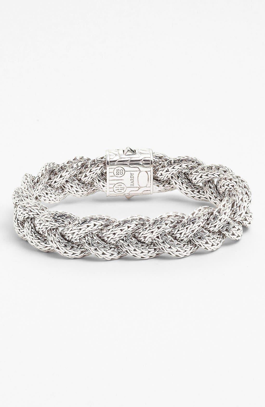 'Classic Chain' Medium Braided Bracelet,                             Alternate thumbnail 10, color,