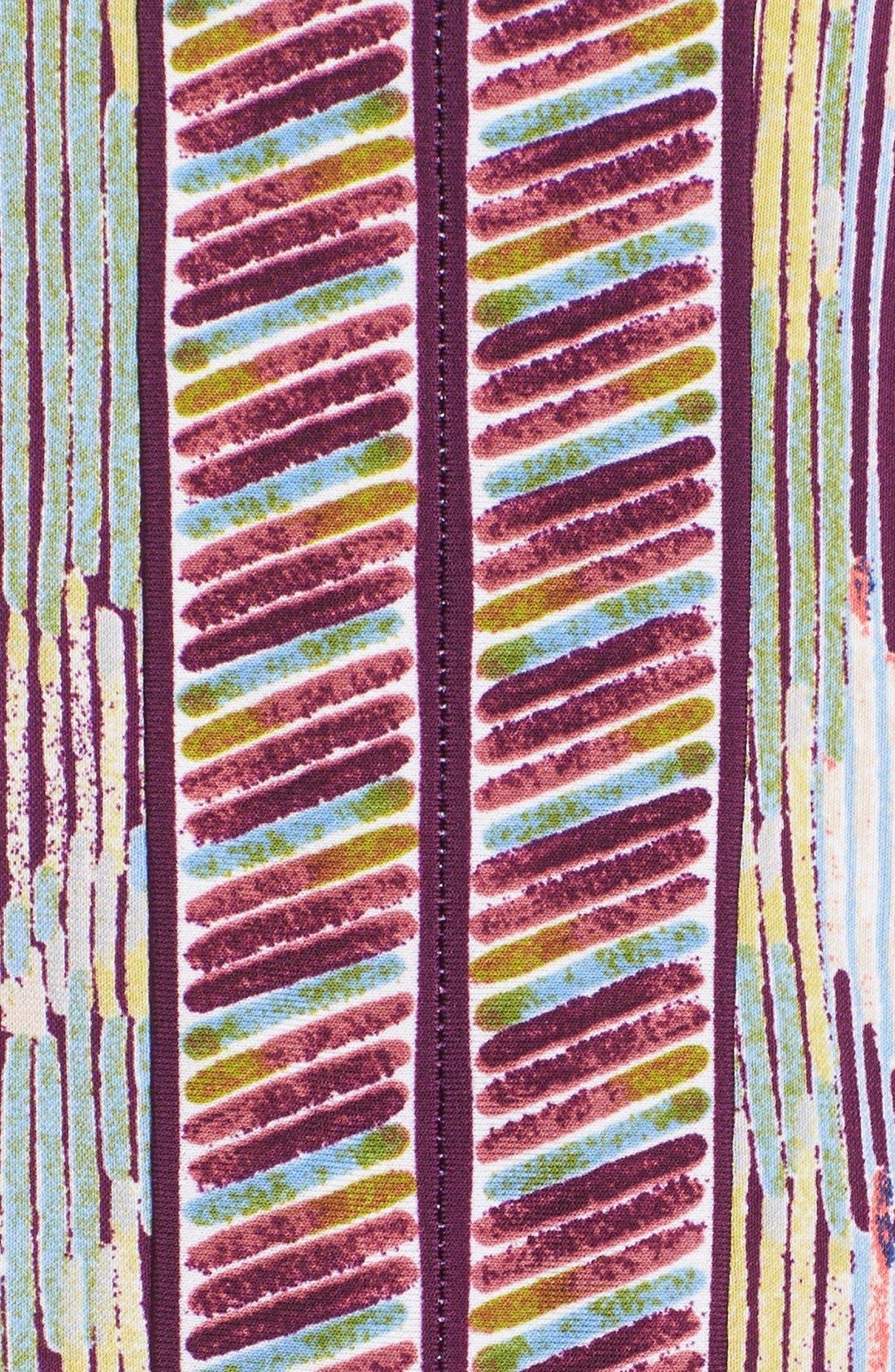 'Tawnya' Print Jersey Dress,                             Alternate thumbnail 5, color,                             590