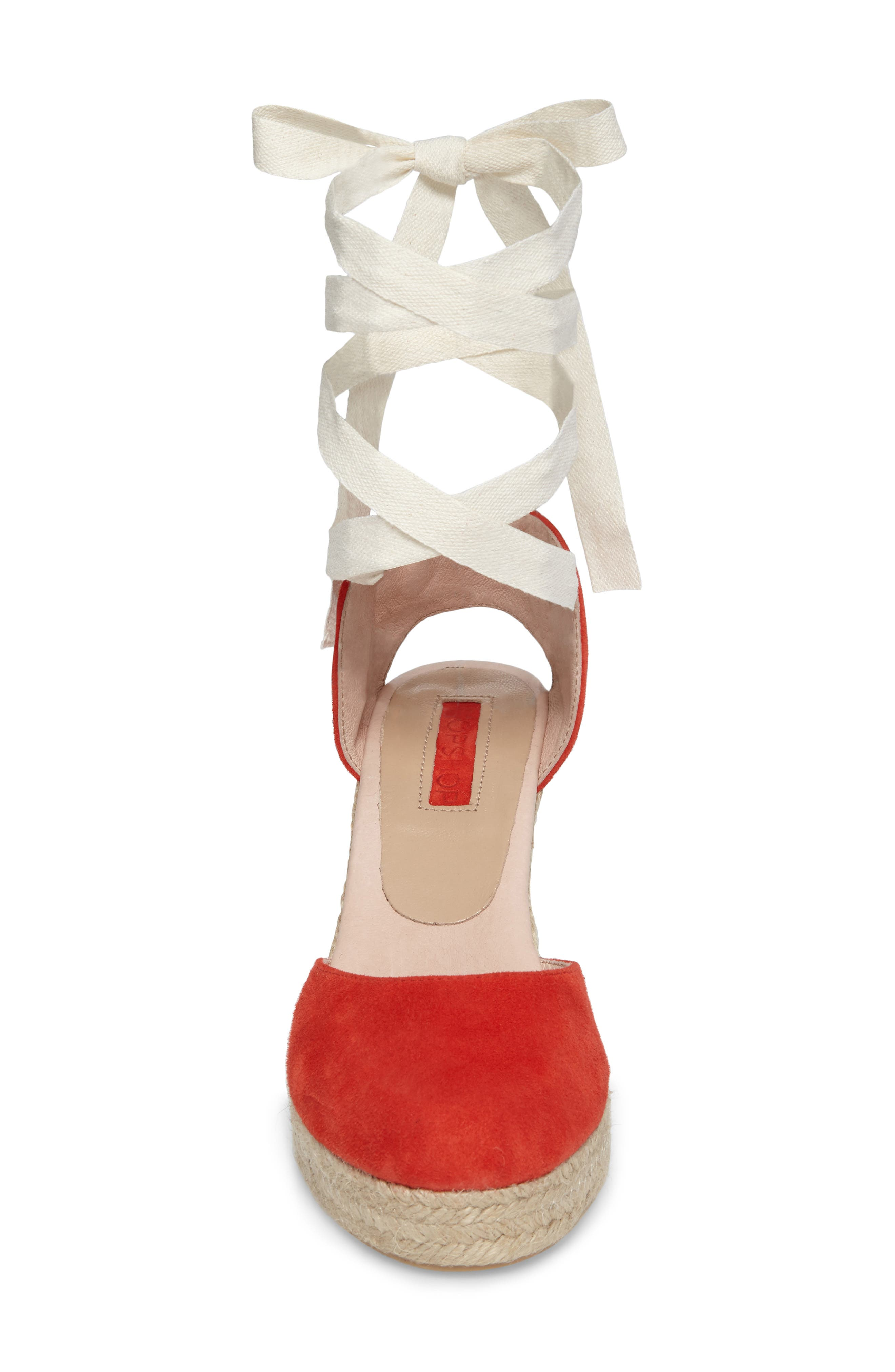 Warmth Espadrille Wedge,                             Alternate thumbnail 8, color,