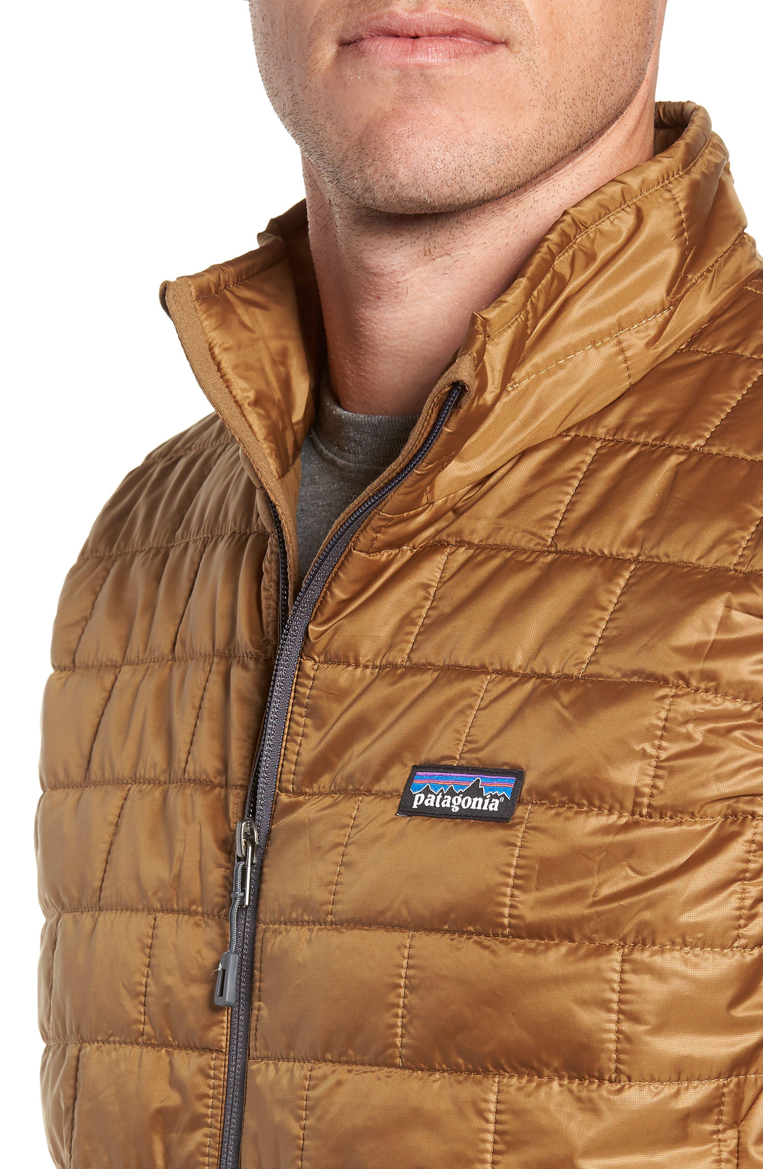 Nano Puff<sup>®</sup> Vest,                             Alternate thumbnail 4, color,                             CORIANDER BROWN