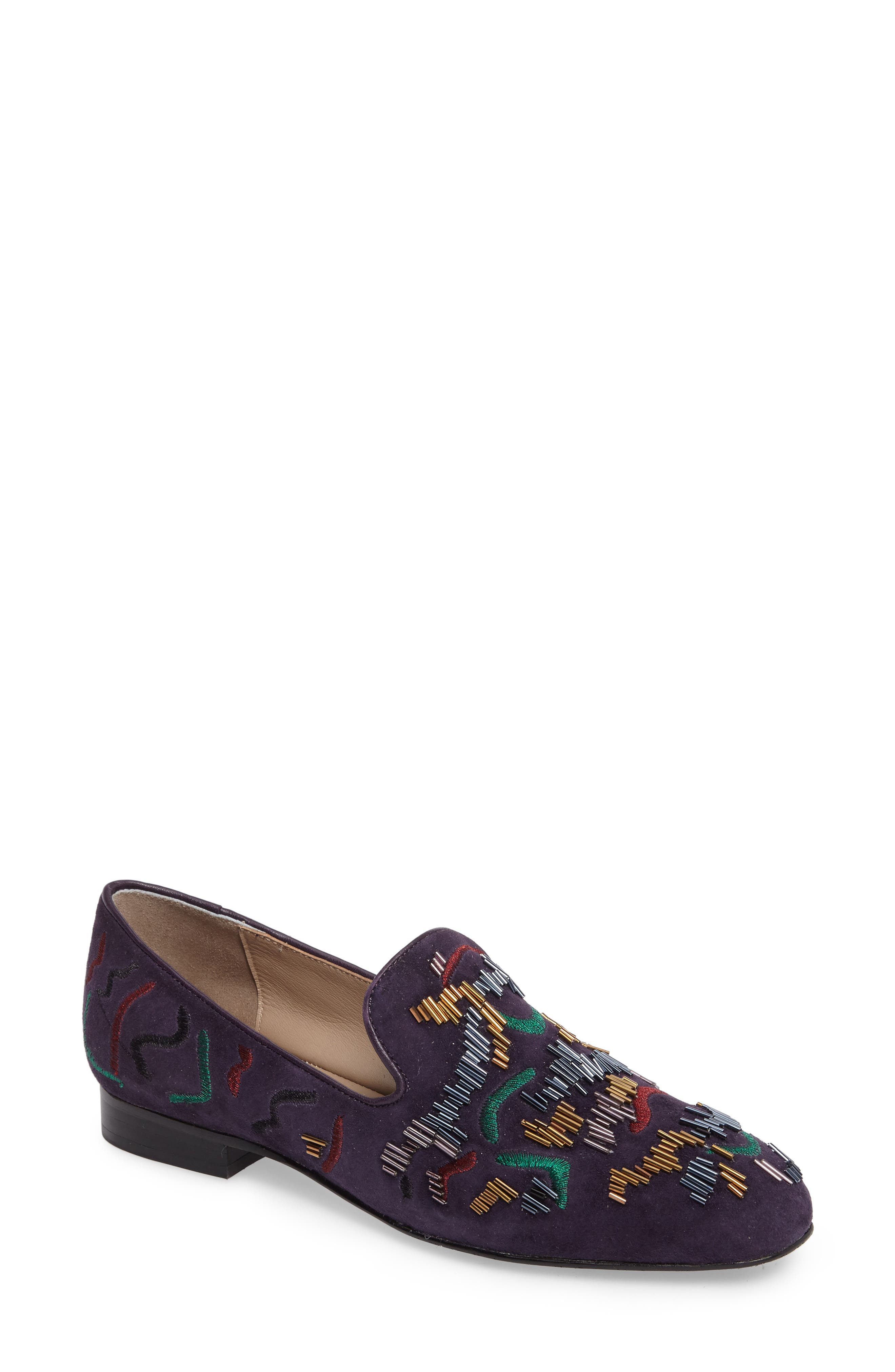 Leanne Beaded Loafer,                         Main,                         color, 654
