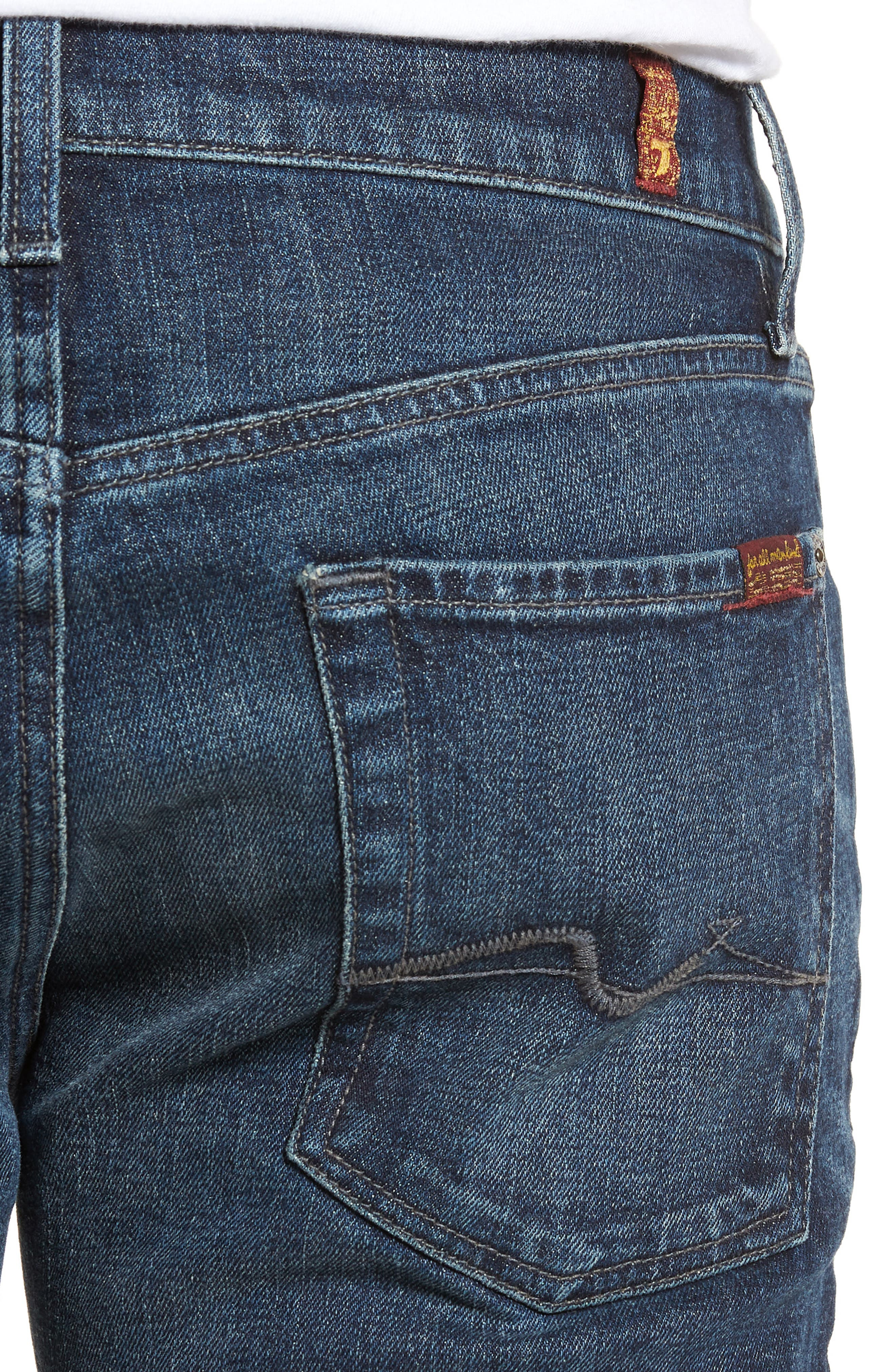 The Standard Straight Leg Jeans,                             Alternate thumbnail 4, color,                             402
