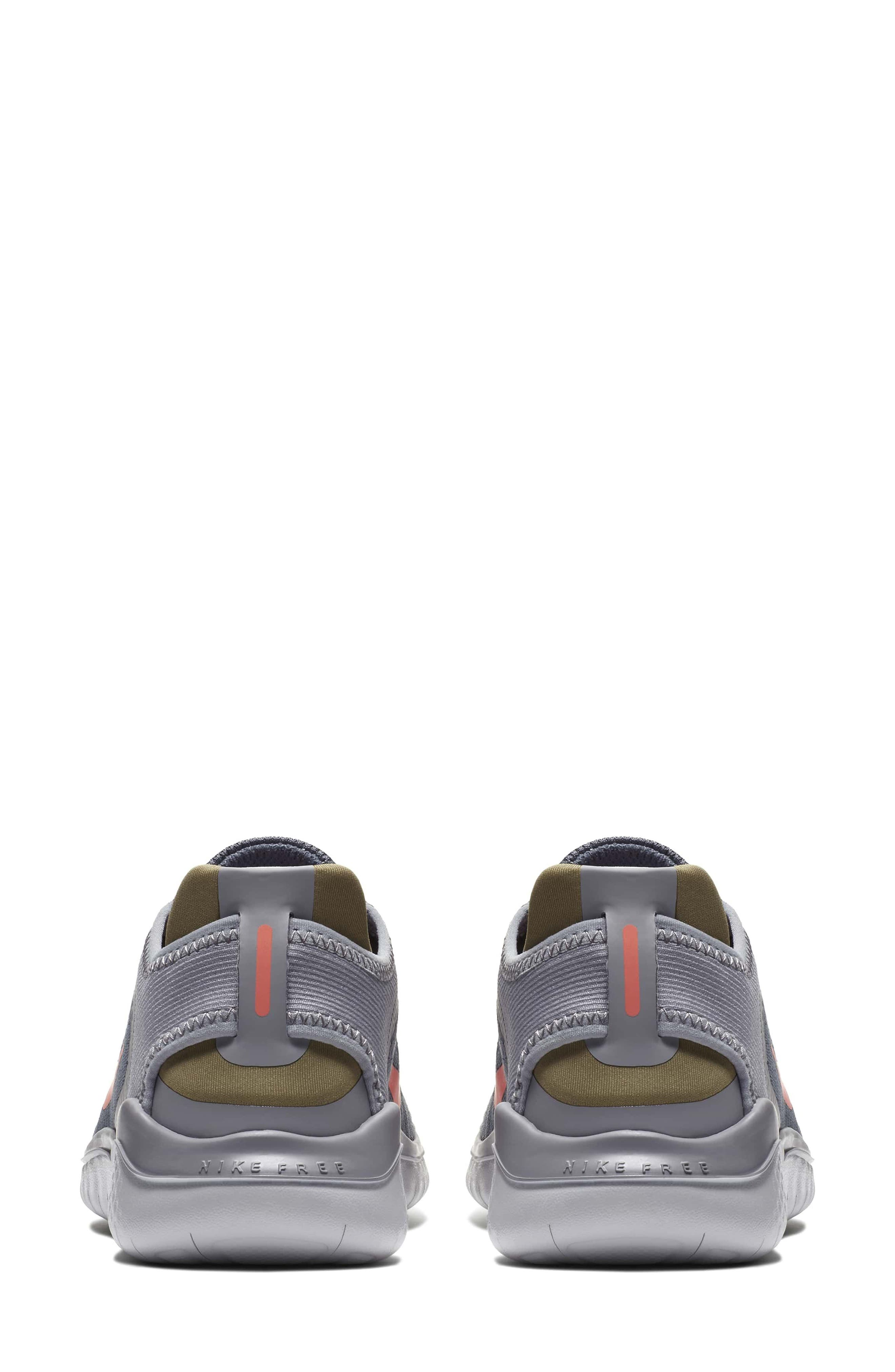Free RN 2018 Running Shoe,                             Alternate thumbnail 2, color,                             SMOKE/ CRIMSON PULSE