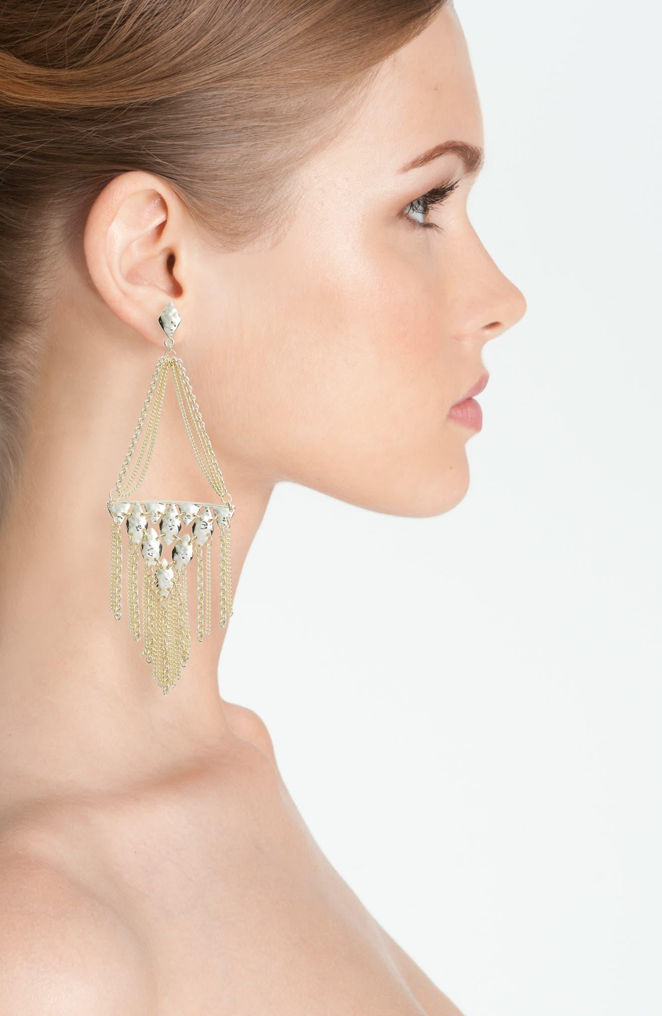 Mandy Drop Earrings,                             Alternate thumbnail 6, color,