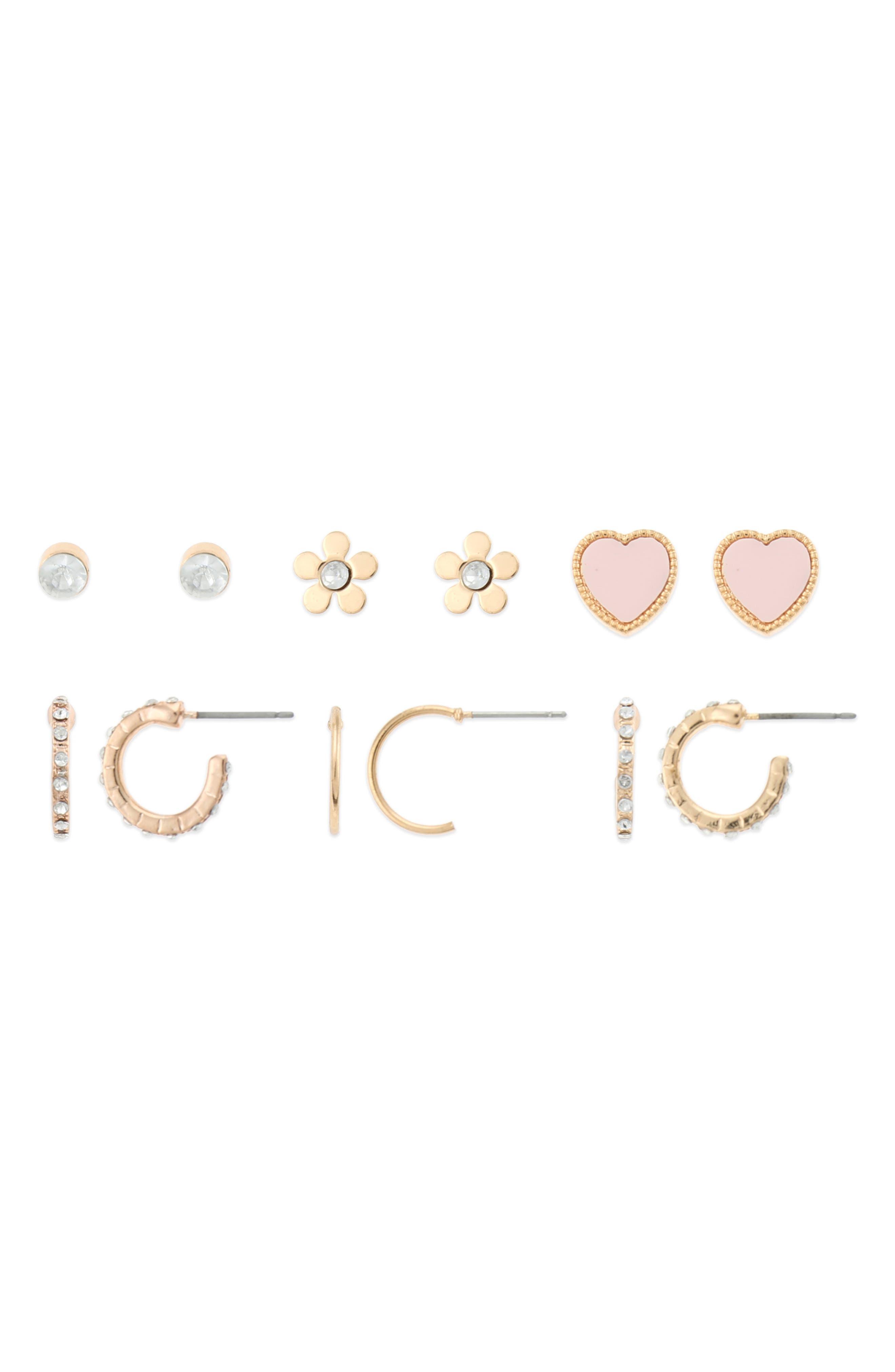 Girls Capelli New York I Will Shine 6Piece Earring Set