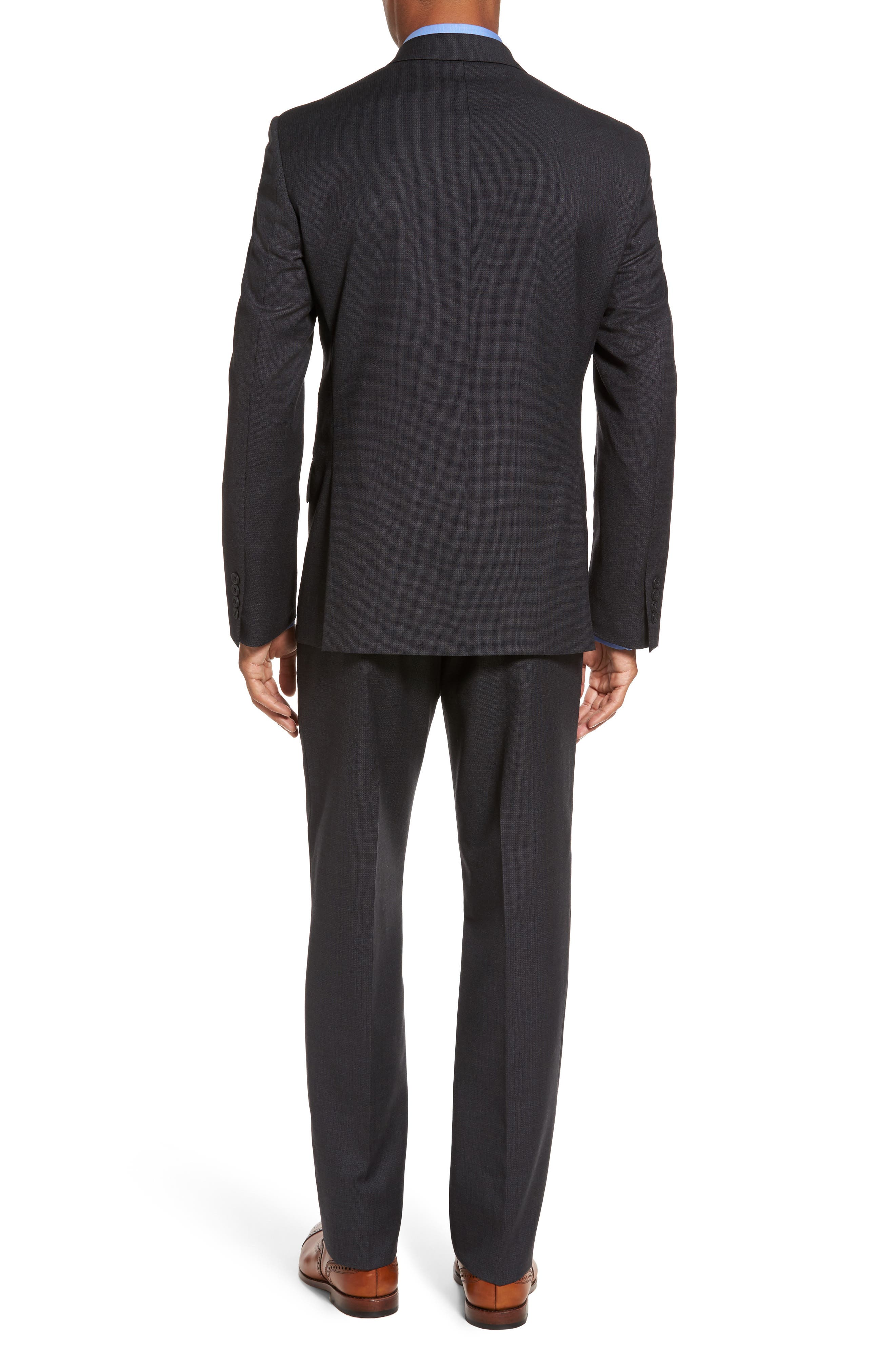 Classic Fit Solid Wool Suit,                             Alternate thumbnail 2, color,                             099