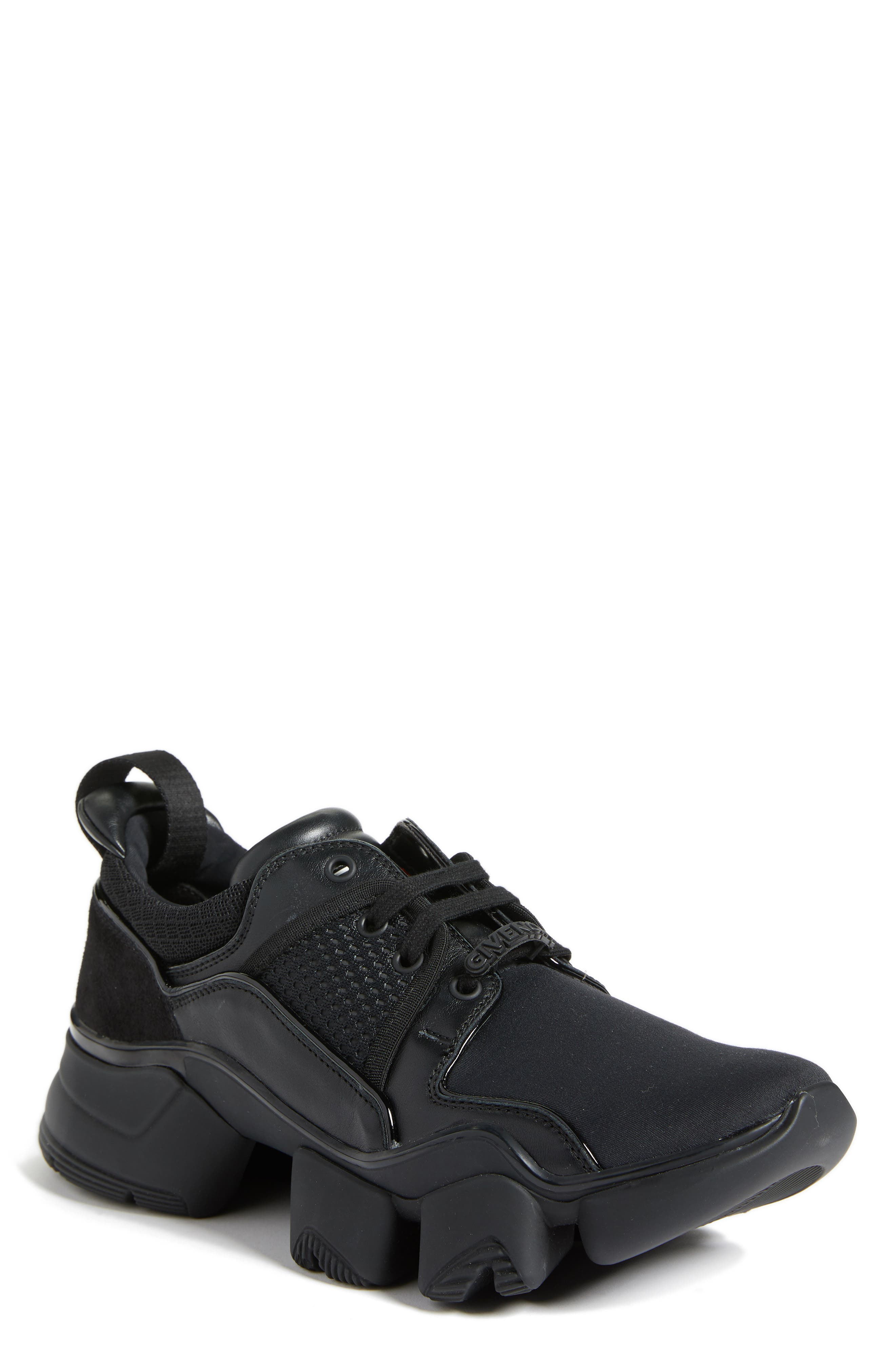 Jaw Sneaker,                             Main thumbnail 1, color,                             BLACK