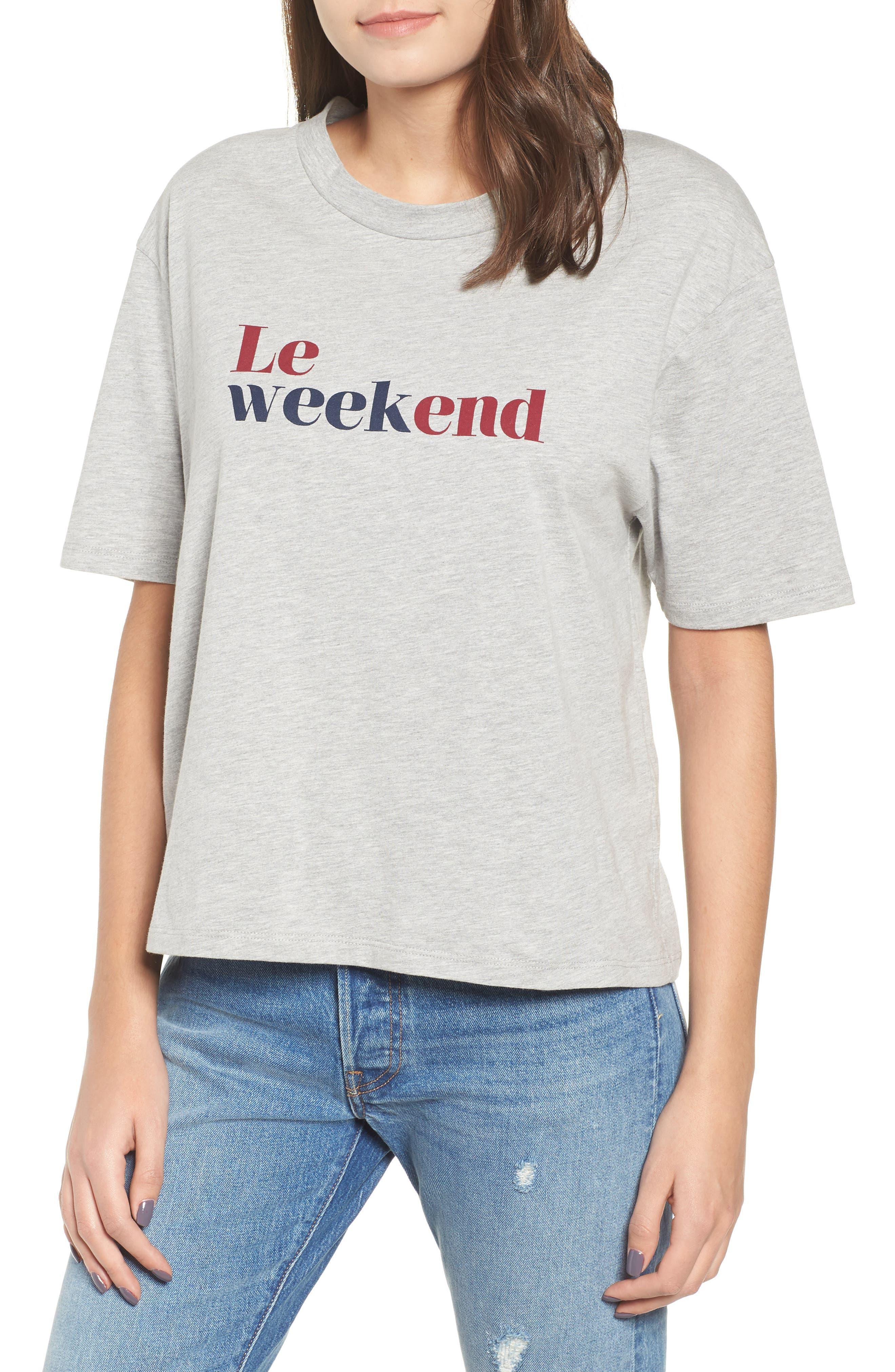 Le Weekend Tee,                         Main,                         color, 020