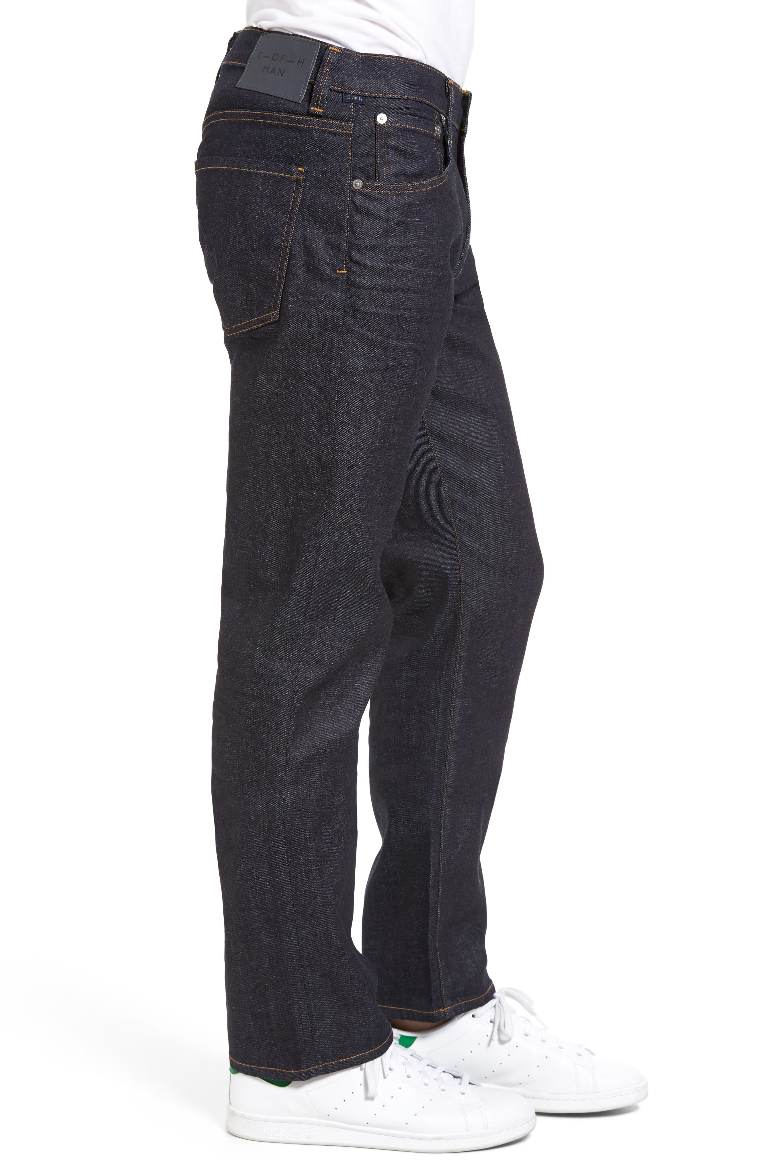 Sid Classic Straight Leg Jeans,                             Alternate thumbnail 4, color,                             LAFAYETTE