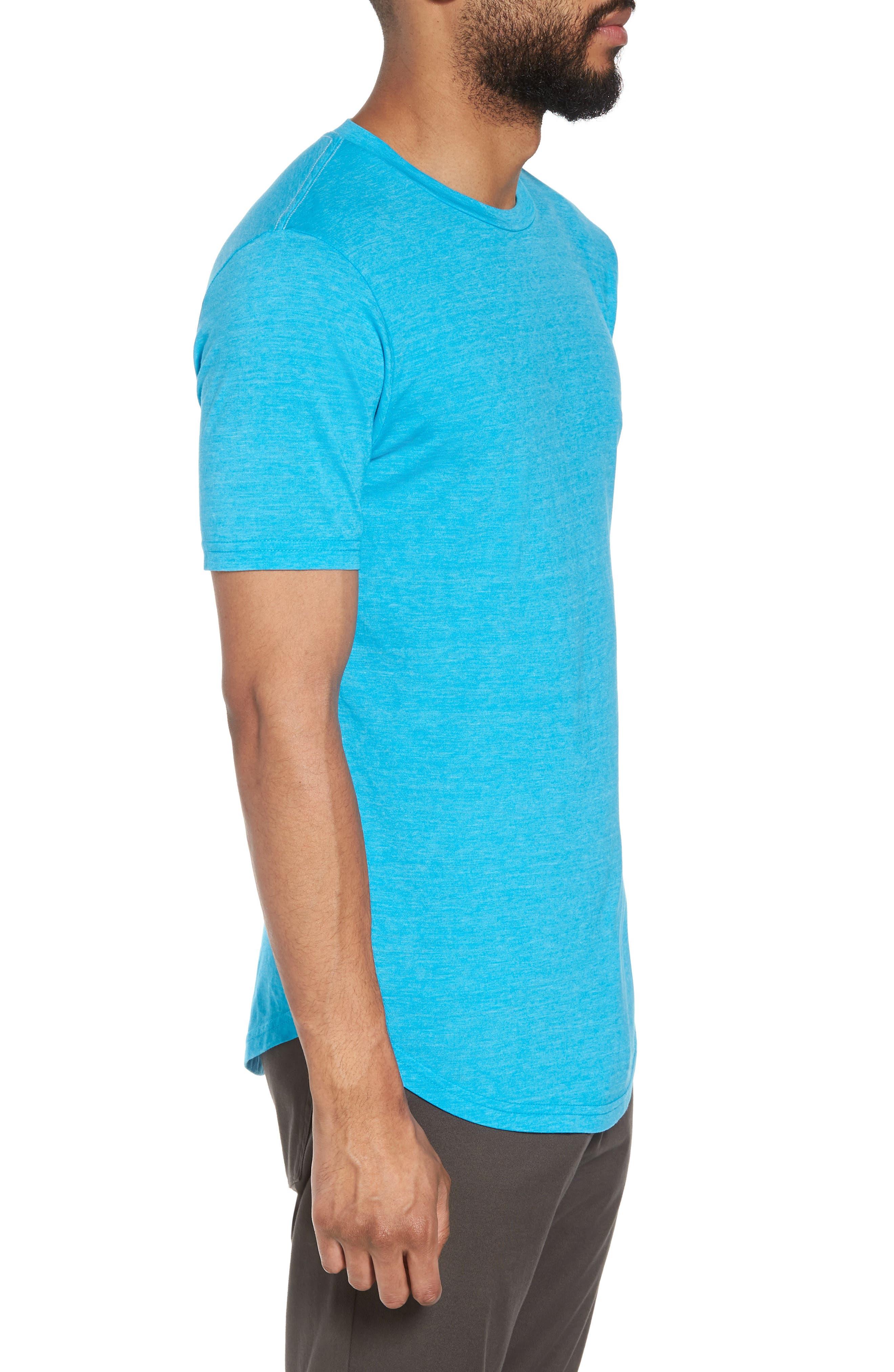 Scallop Triblend Crewneck T-Shirt,                             Alternate thumbnail 55, color,