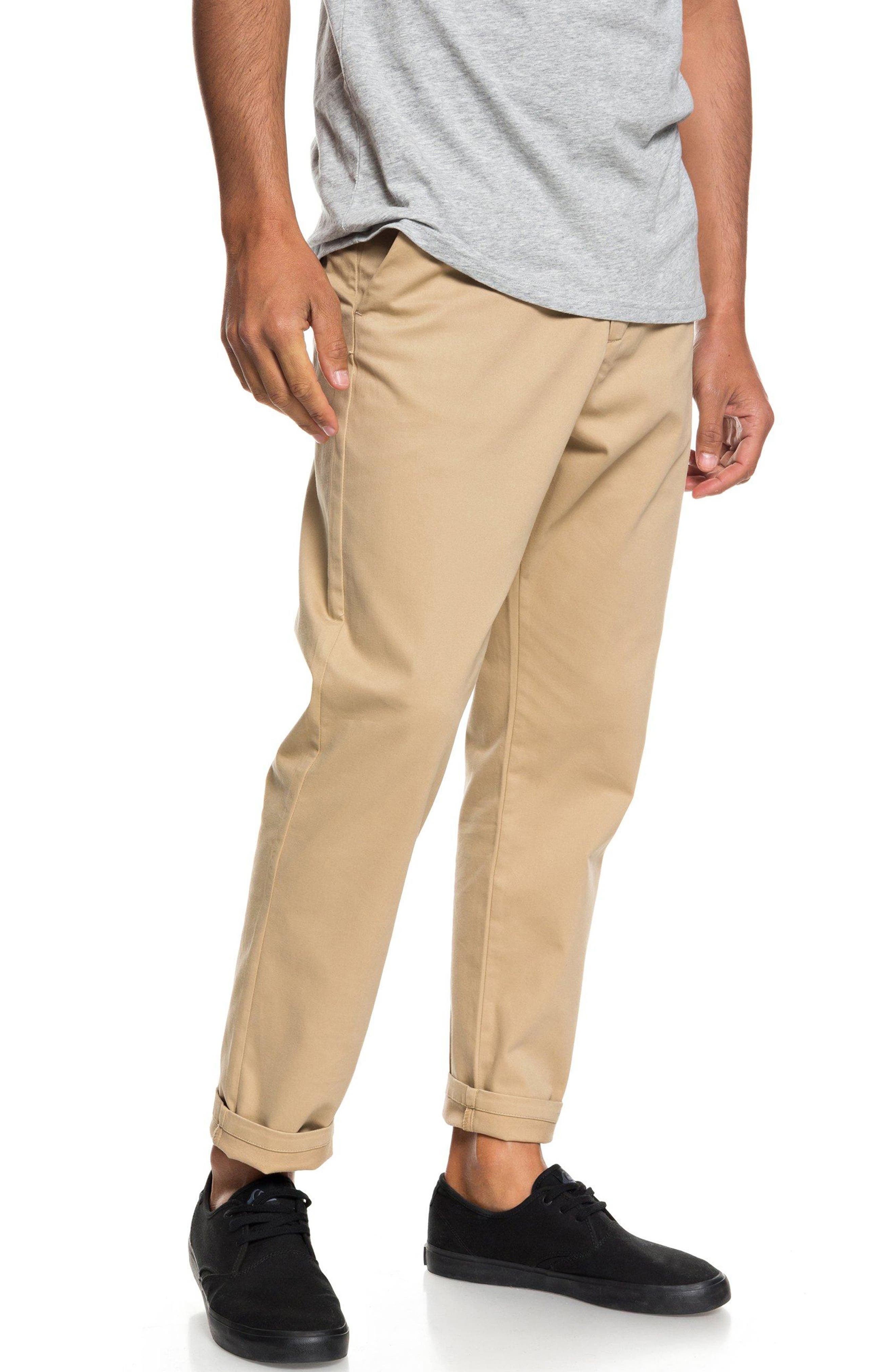 Slim Fit Chinos,                             Alternate thumbnail 3, color,                             PLAGE