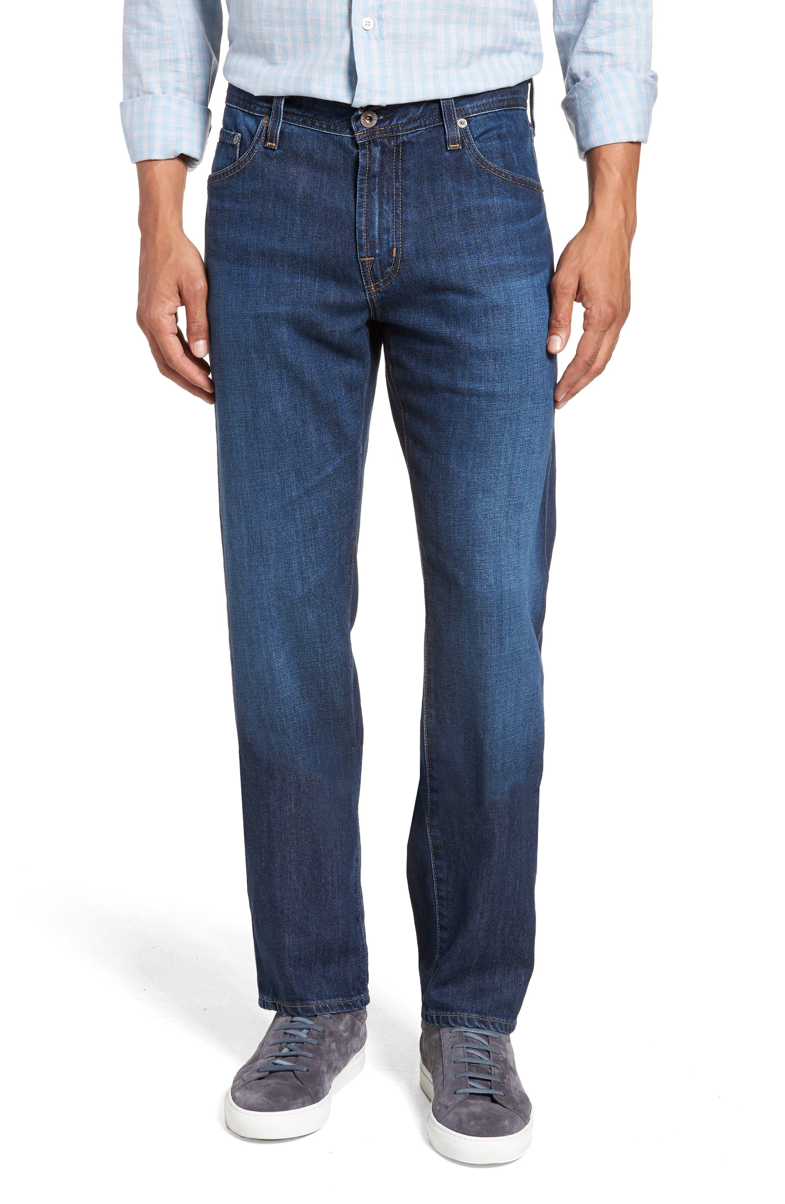 Graduate Slim Straight Leg Jeans,                             Main thumbnail 1, color,                             477