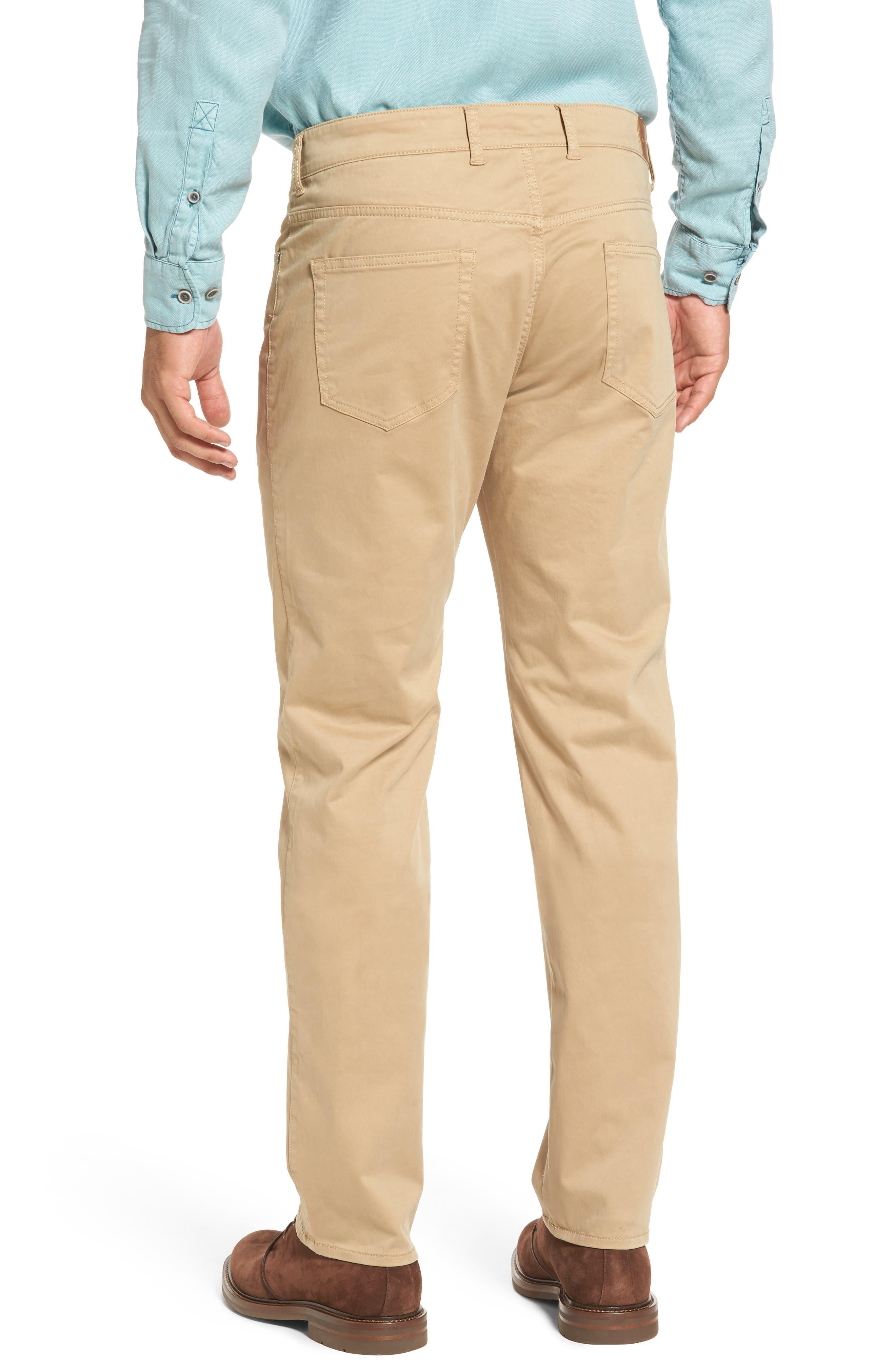 Stretch Sateen Five-Pocket Pants,                             Alternate thumbnail 6, color,