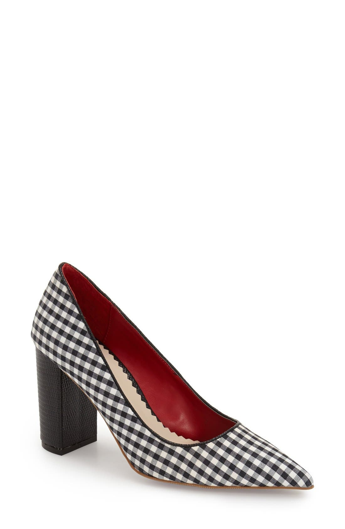 'OMG' Pointy Toe Pump,                         Main,                         color, 006