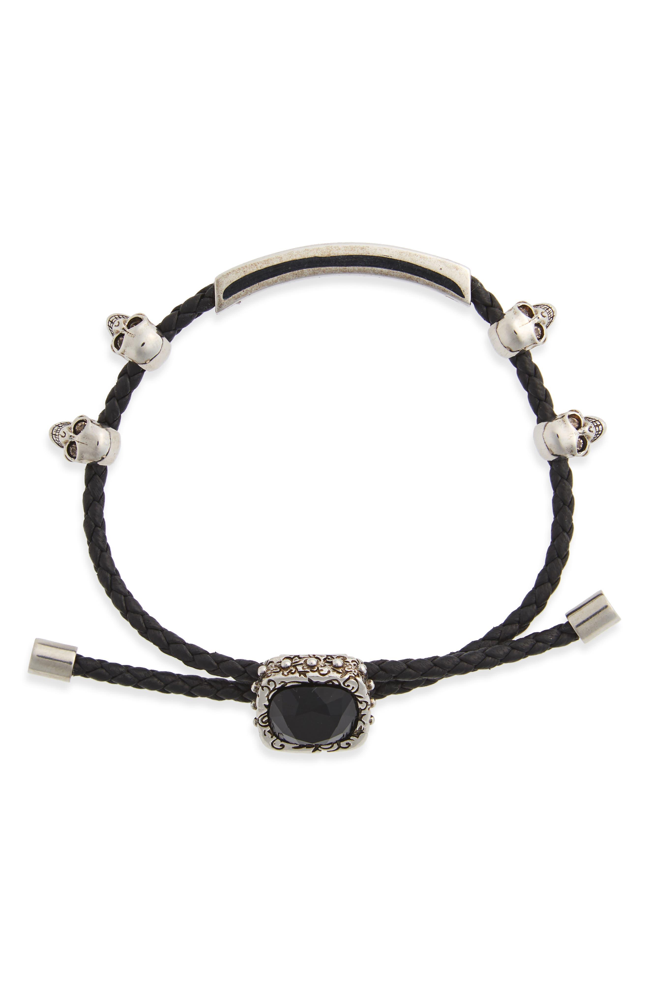 Jewel Friendship Bracelet,                             Main thumbnail 1, color,                             001