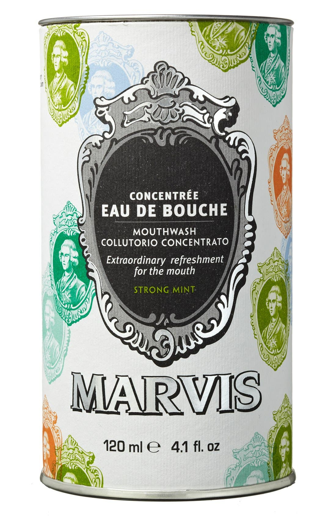 'Marvis' Strong Mint Mouthwash Concentrate,                             Alternate thumbnail 4, color,                             NO COLOR