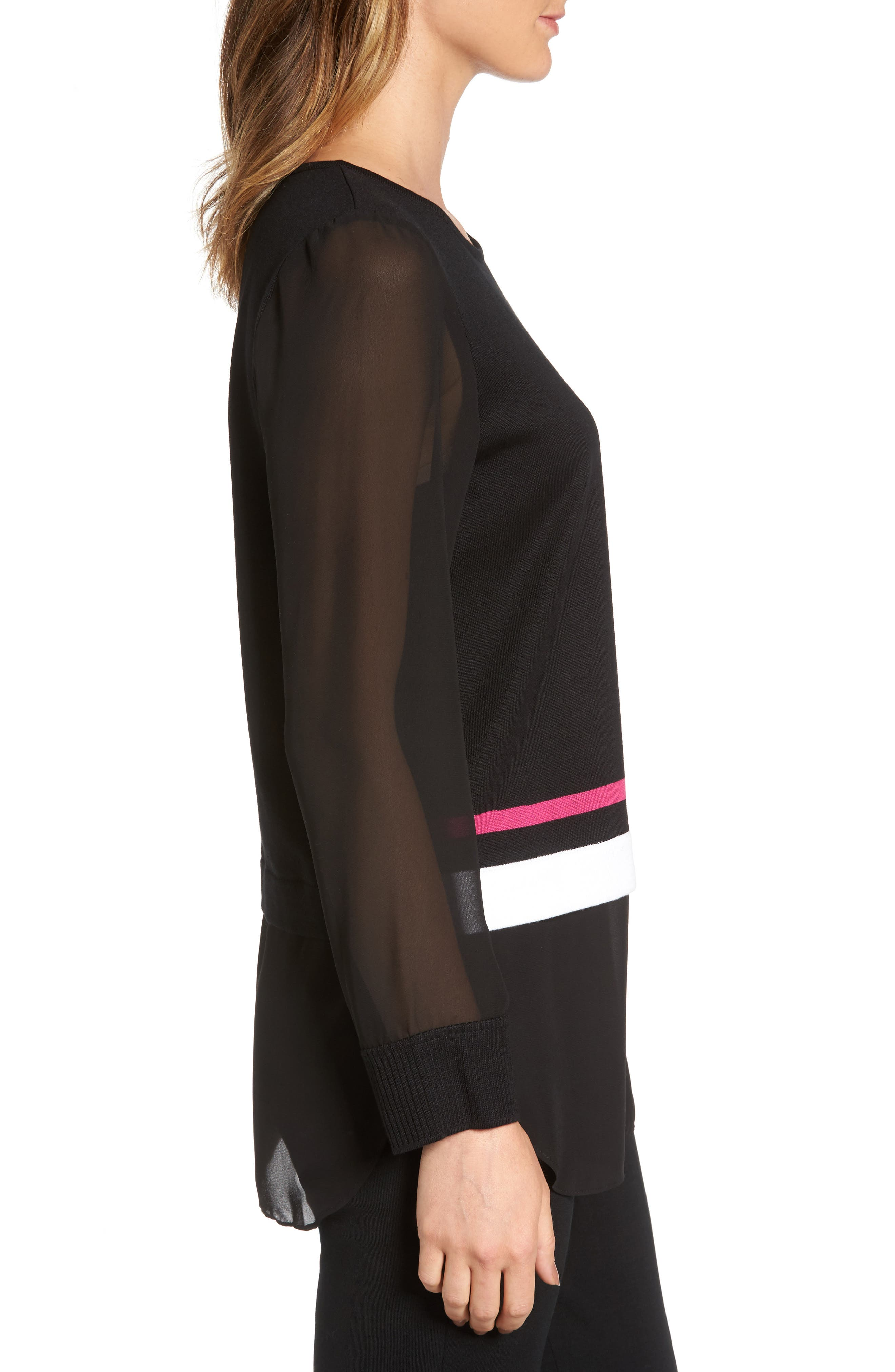 Layered Look Tunic,                             Alternate thumbnail 3, color,                             009