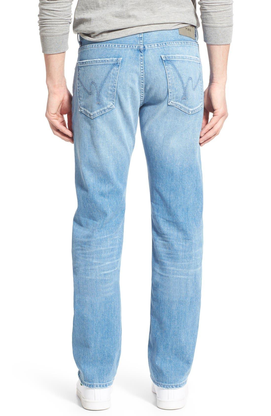 'Sid' Straight Leg Jeans,                             Alternate thumbnail 2, color,                             465
