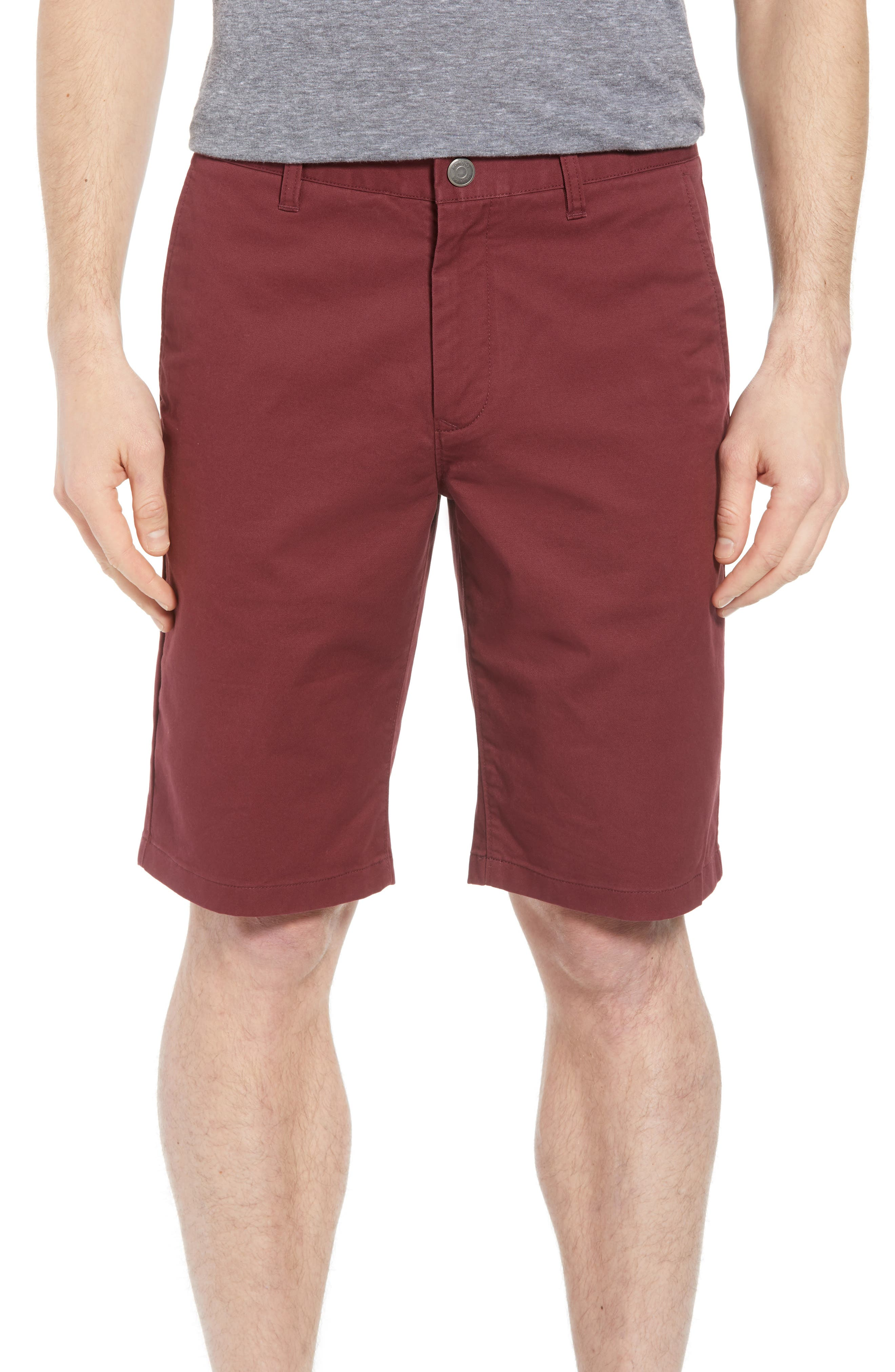 Stretch Washed Chino 11-Inch Shorts,                             Main thumbnail 11, color,