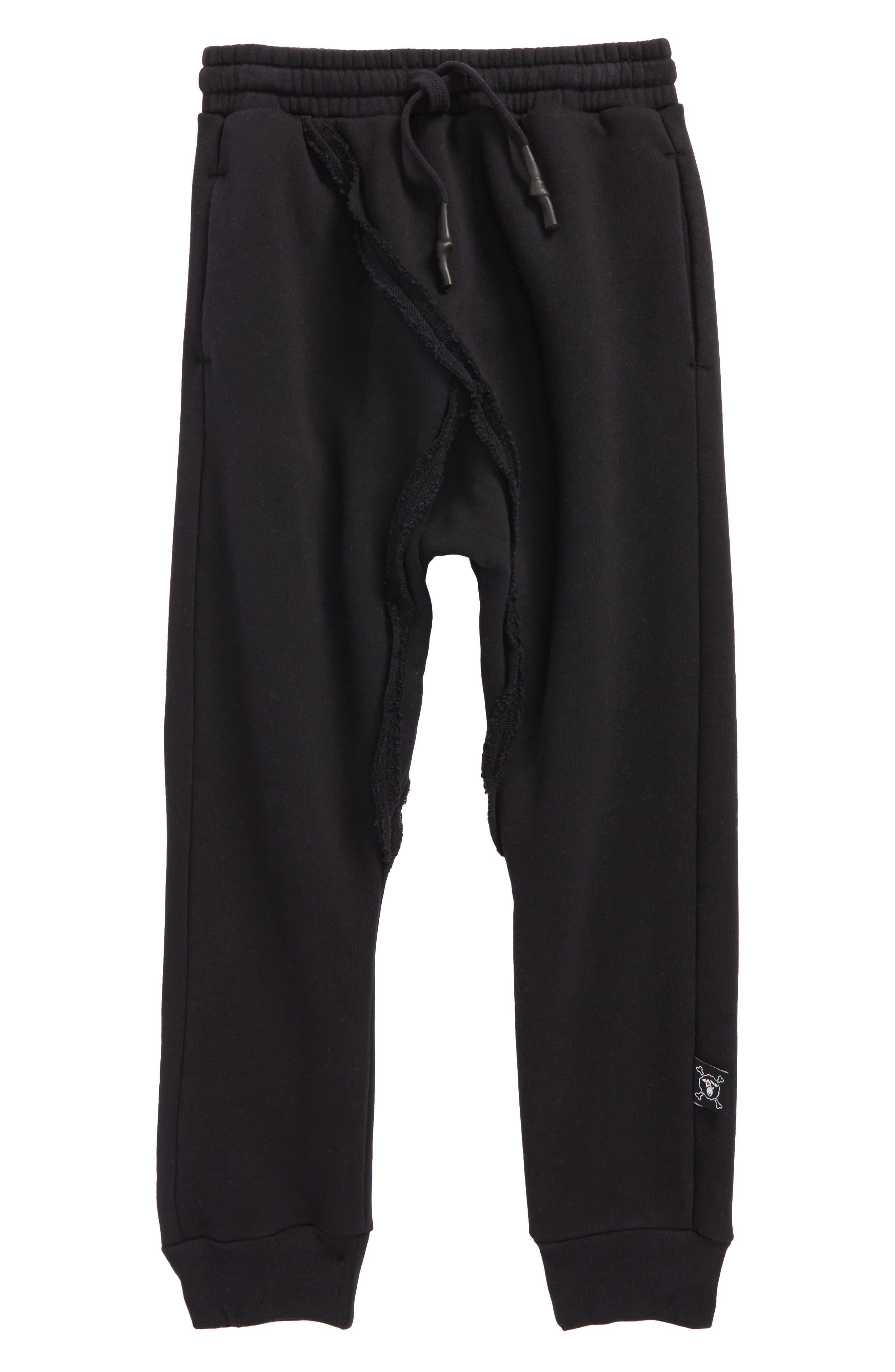 Raw Baggy Pants,                         Main,                         color, 001