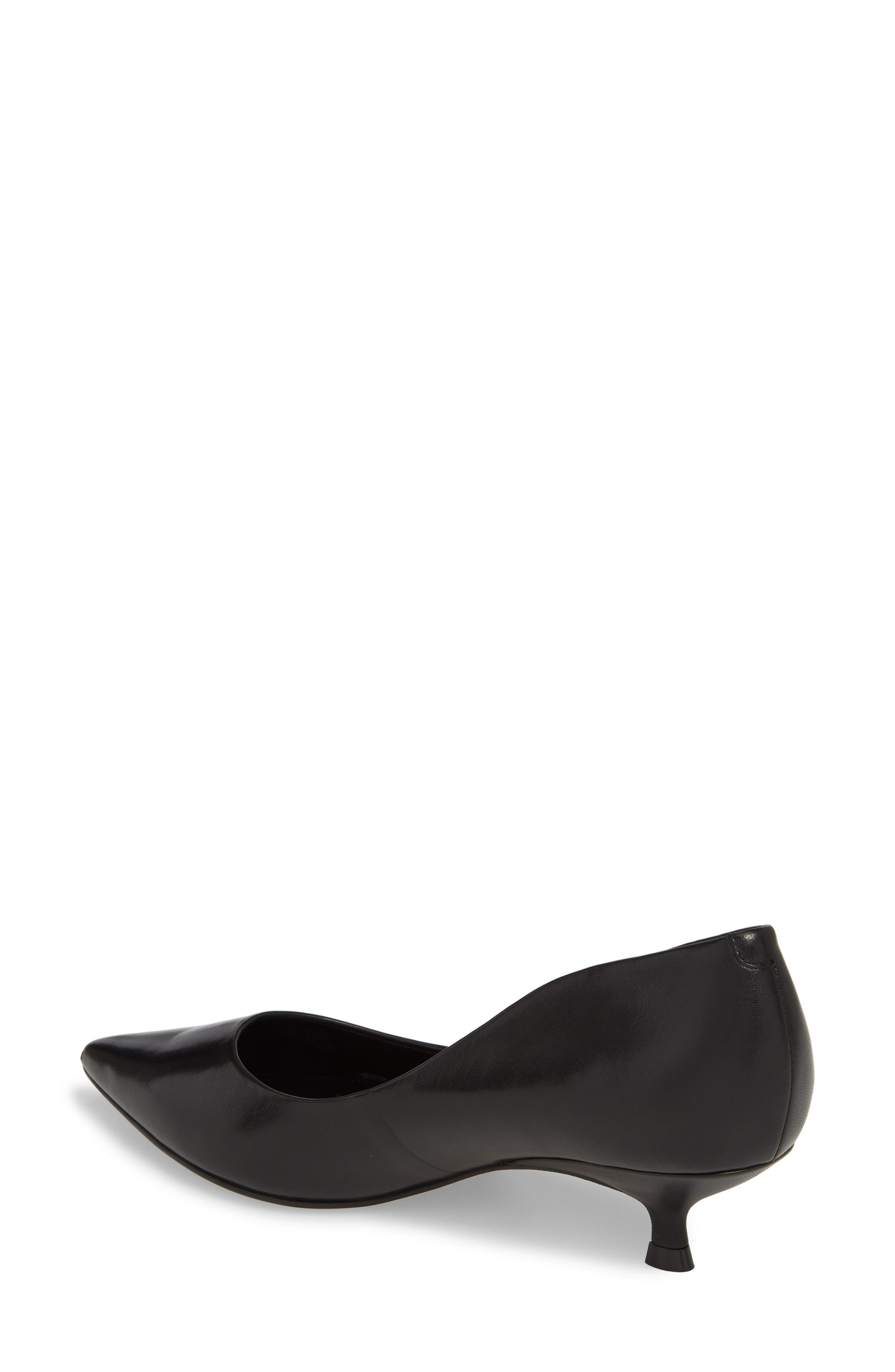 Xanthe Kitten Heel Pump,                             Alternate thumbnail 6, color,