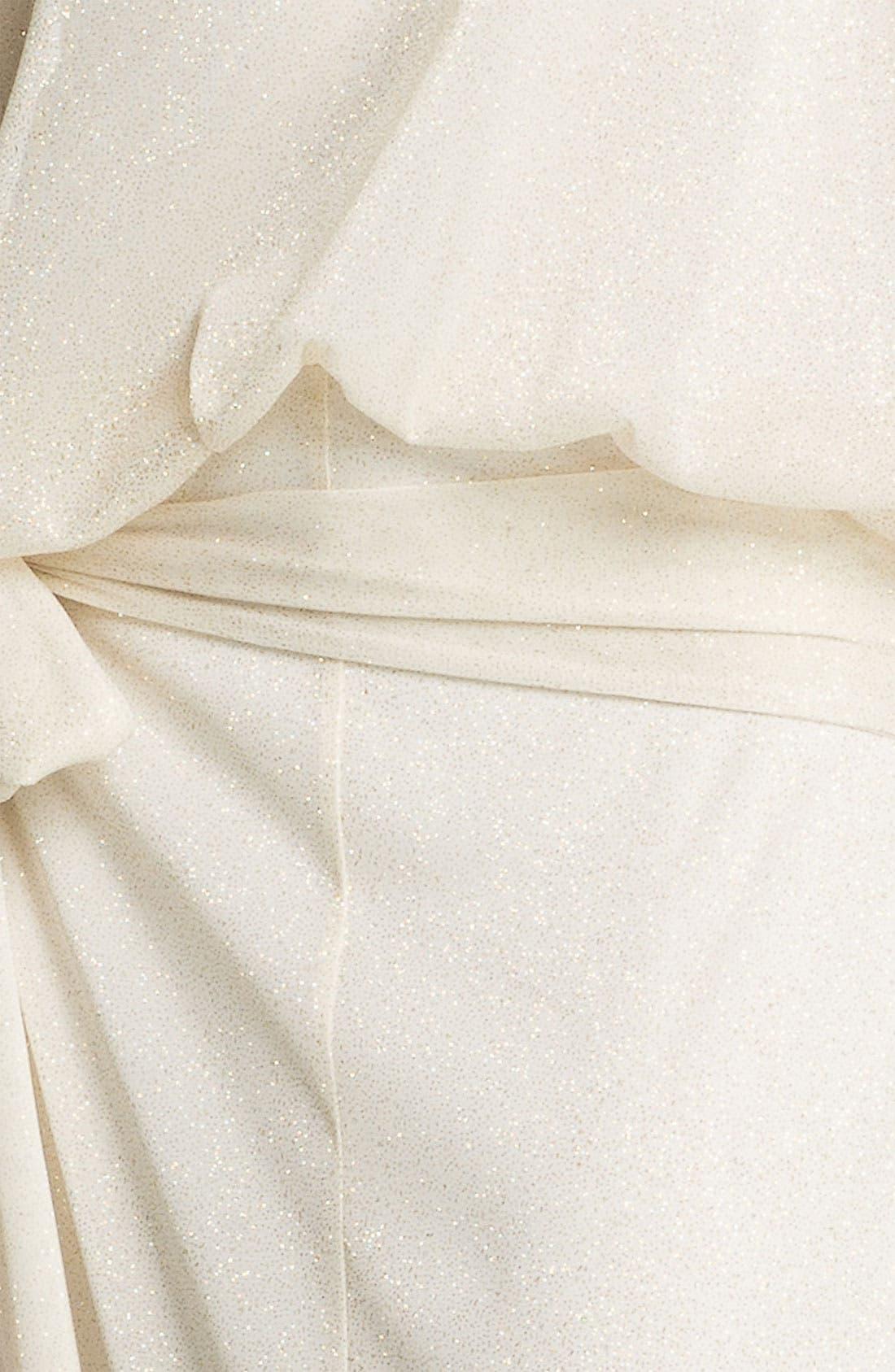 'Anne' Sheer Blouson Bodice Maxi Dress,                             Alternate thumbnail 2, color,                             900