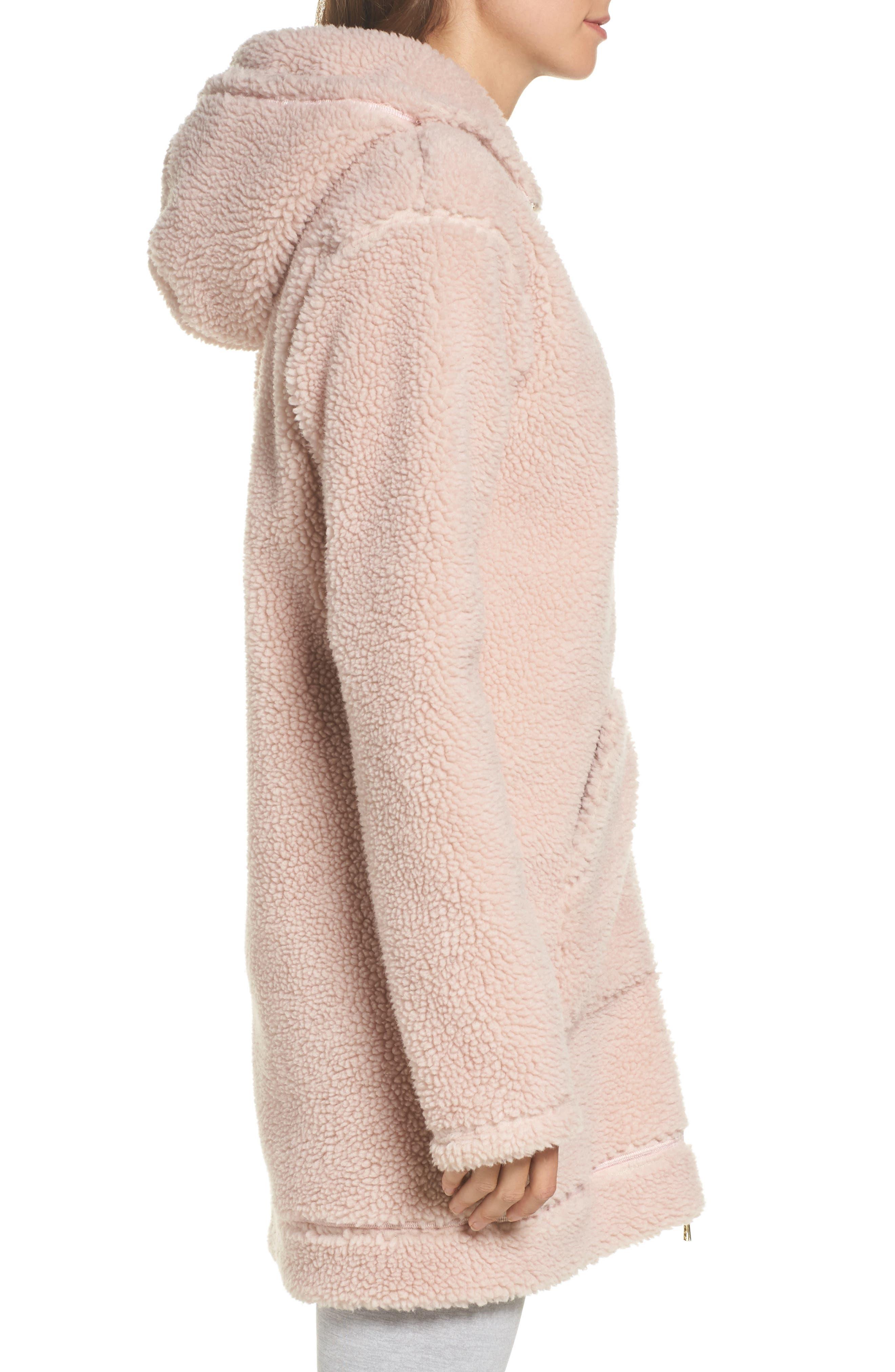 Brea Fleece Jacket,                             Alternate thumbnail 3, color,                             680