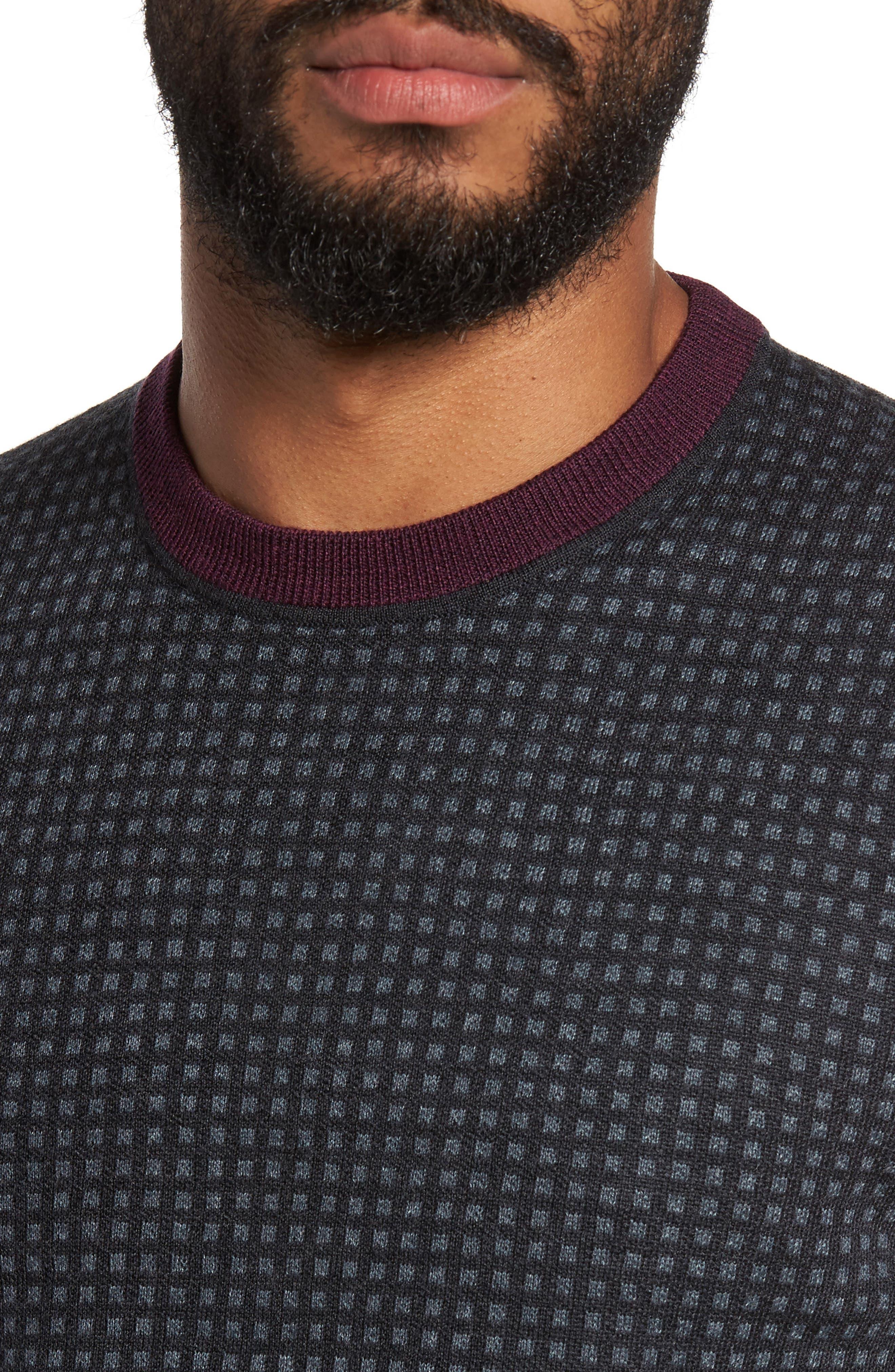 Parvine Crewneck Sweater,                             Alternate thumbnail 4, color,                             031