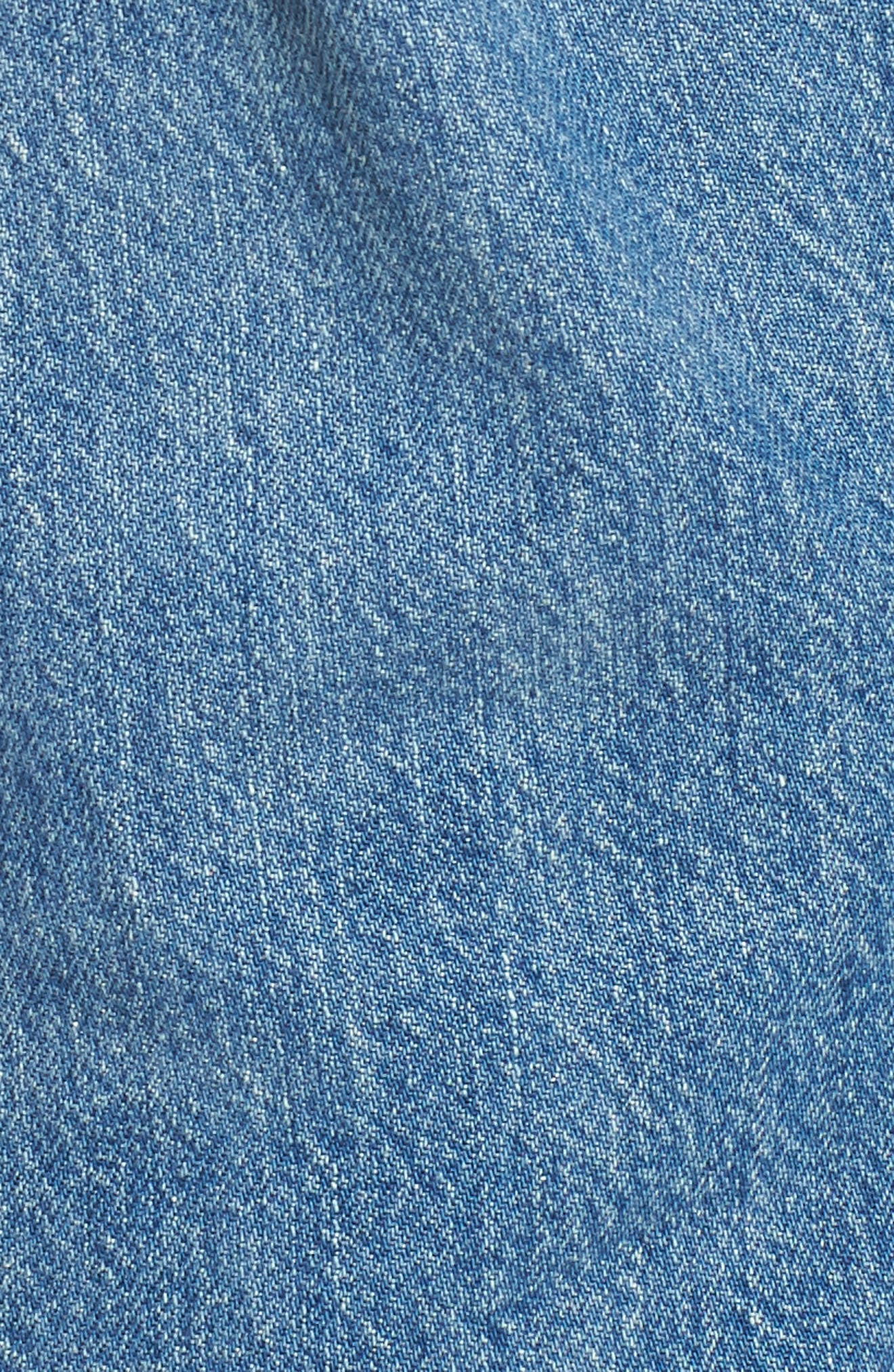 501<sup>™</sup> Taper Ripped Boyfriend Jeans,                             Alternate thumbnail 6, color,                             420