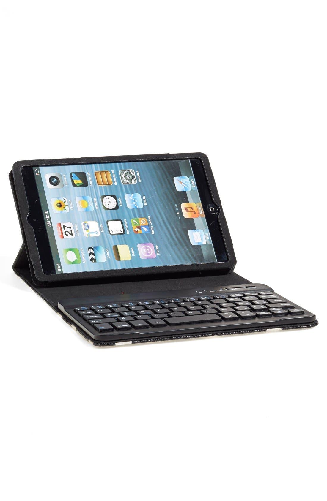 'cedar street - dot' iPad mini keyboard case,                             Alternate thumbnail 2, color,                             001