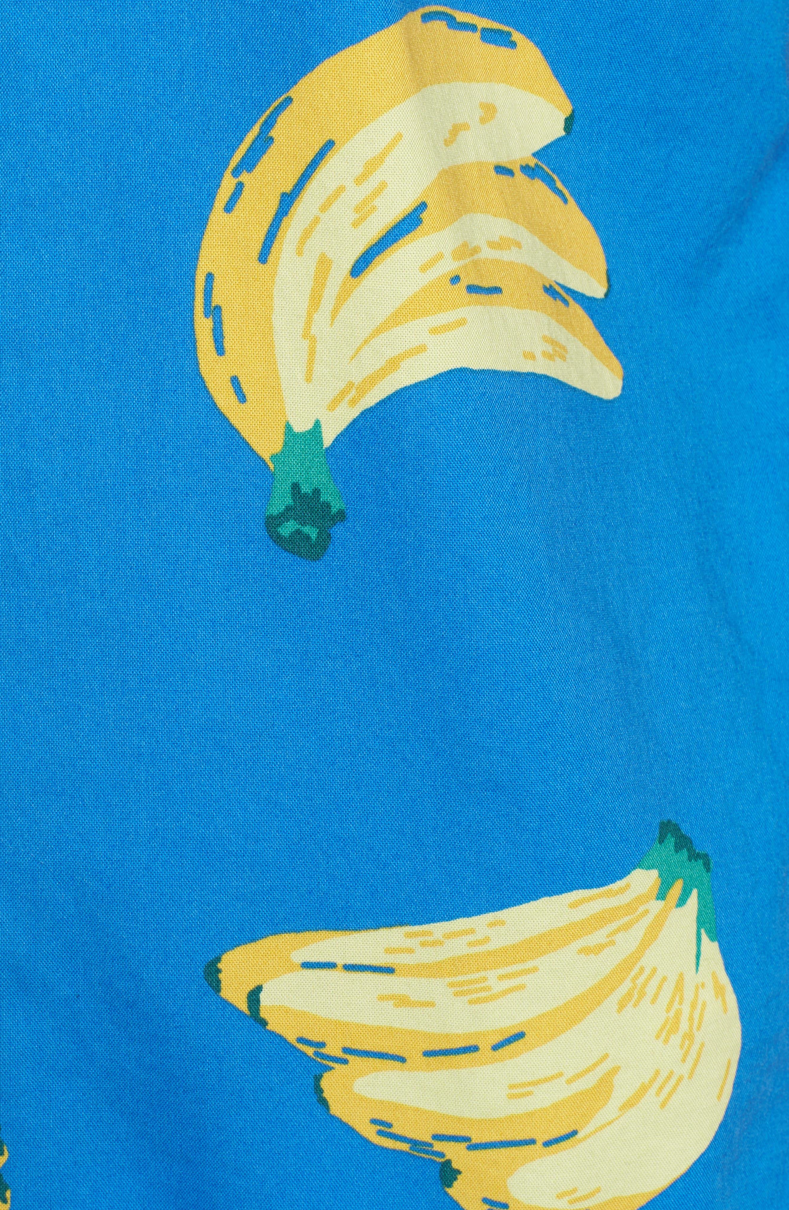 Slim Fit Print Sport Shirt,                             Alternate thumbnail 5, color,