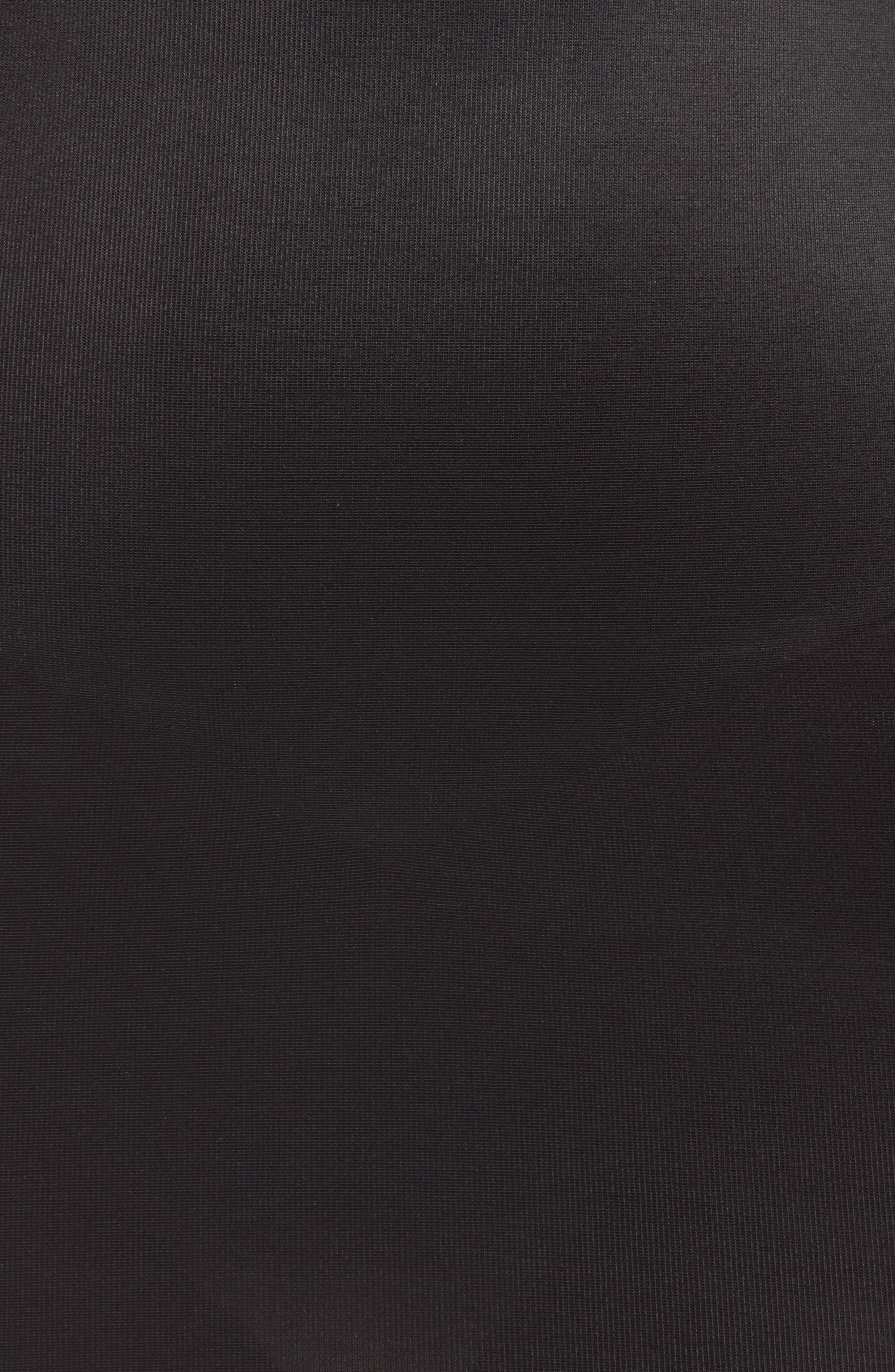 TC,                             'Torsette' Underbust Shaping Slip,                             Alternate thumbnail 5, color,                             BLACK