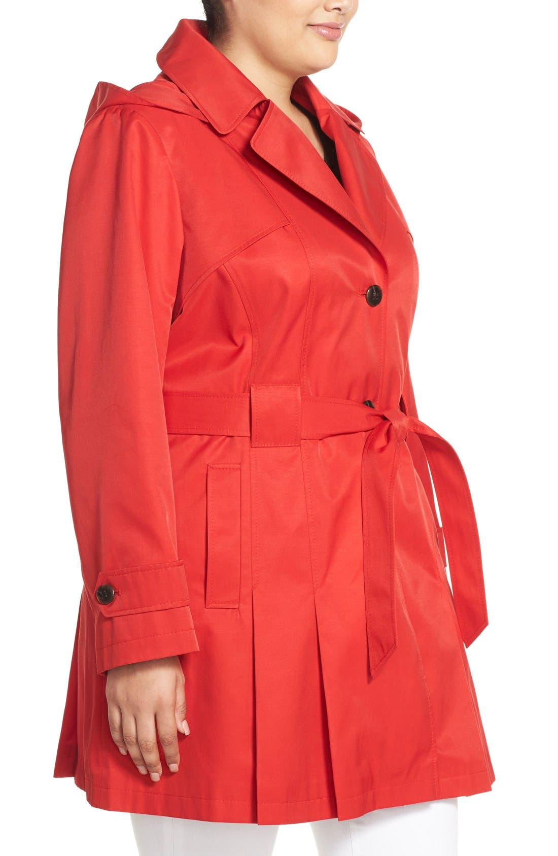 'Scarpa' Single Breasted Trench Coat,                             Alternate thumbnail 23, color,
