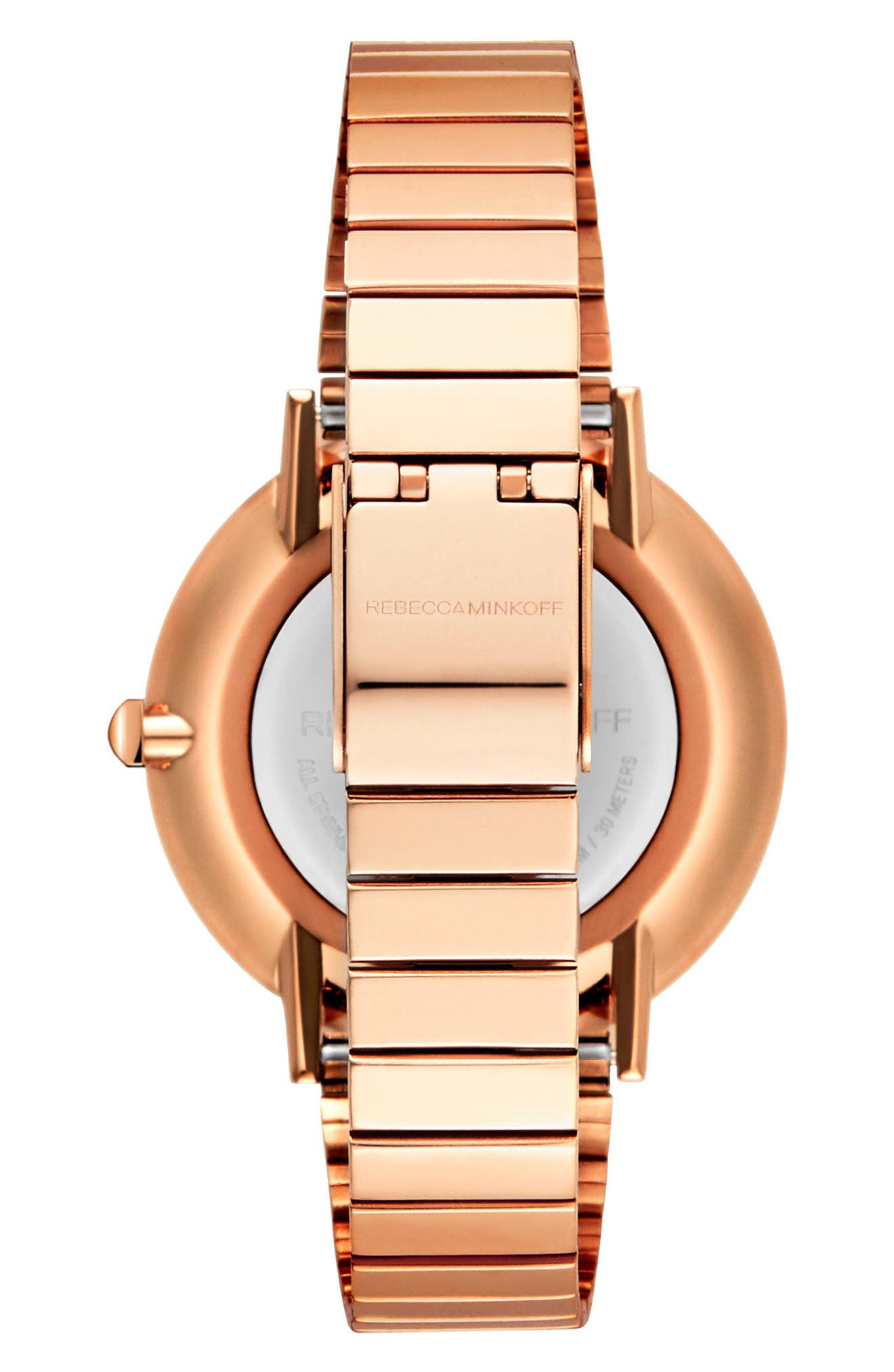 Major Bracelet Watch, 35mm,                             Alternate thumbnail 2, color,                             ROSE GOLD