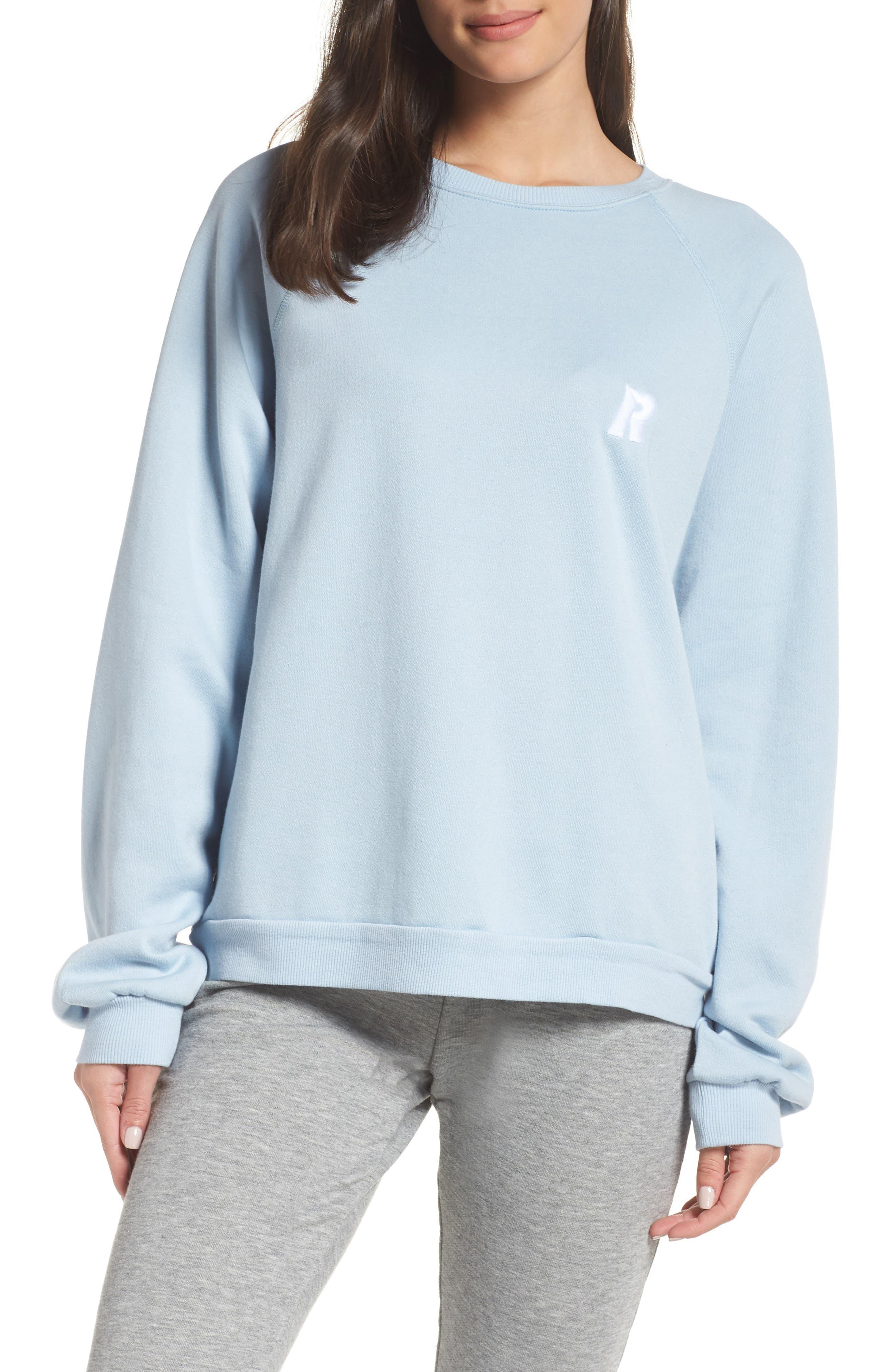 RAGDOLL Oversize Sweatshirt in Light Blue