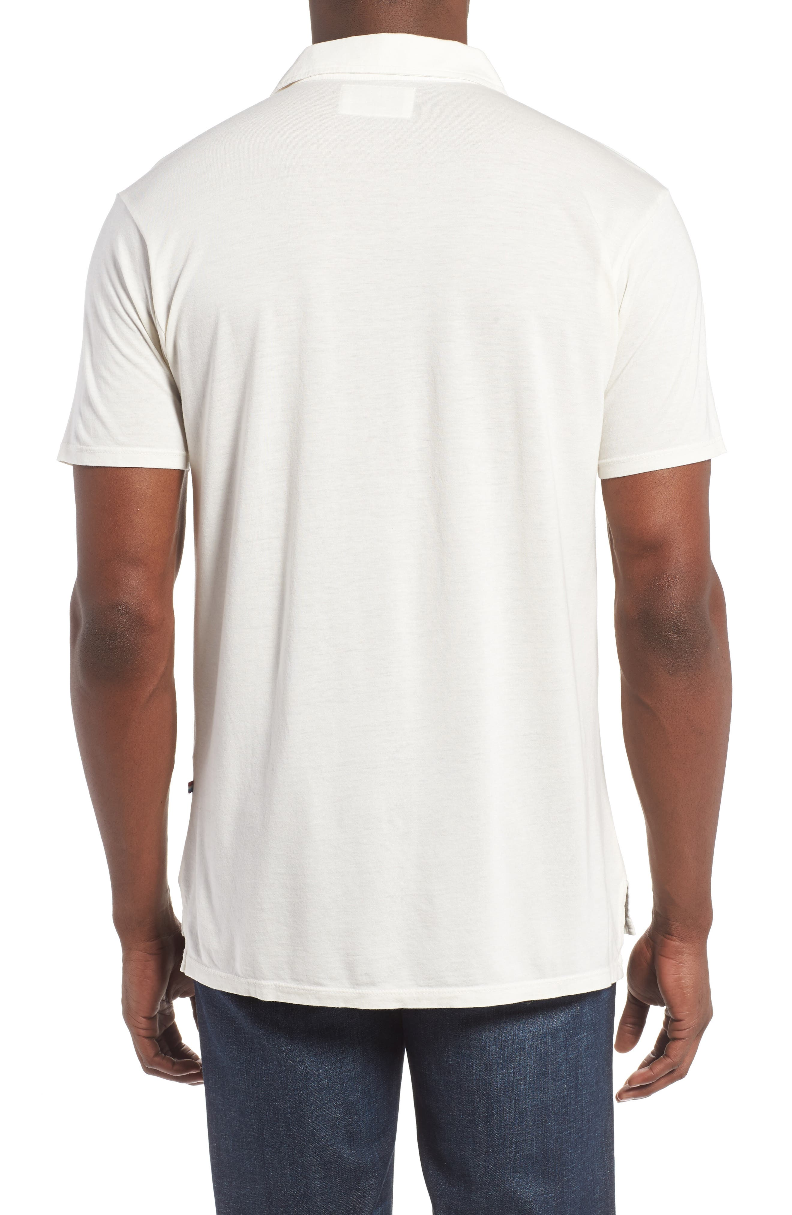 Essential Jersey Polo,                             Alternate thumbnail 6, color,