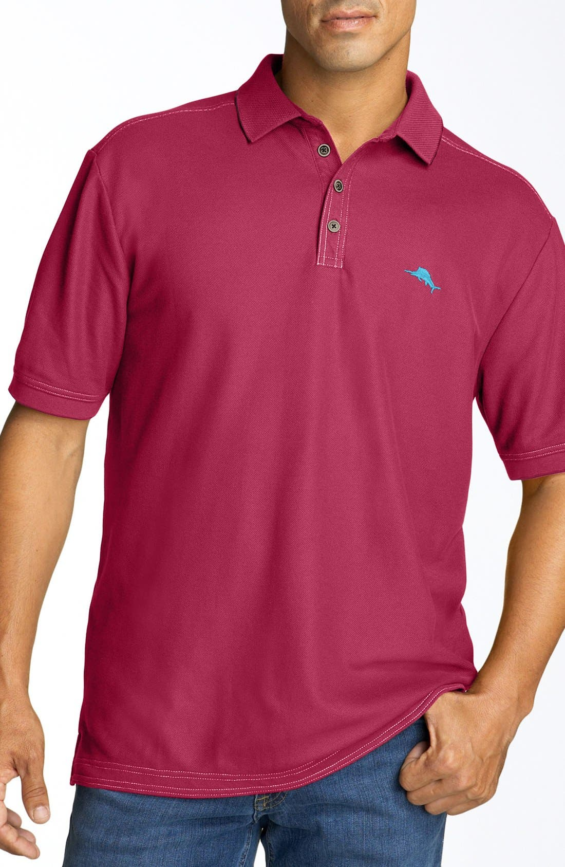 'The Emfielder' Original Fit Piqué Polo,                             Main thumbnail 106, color,