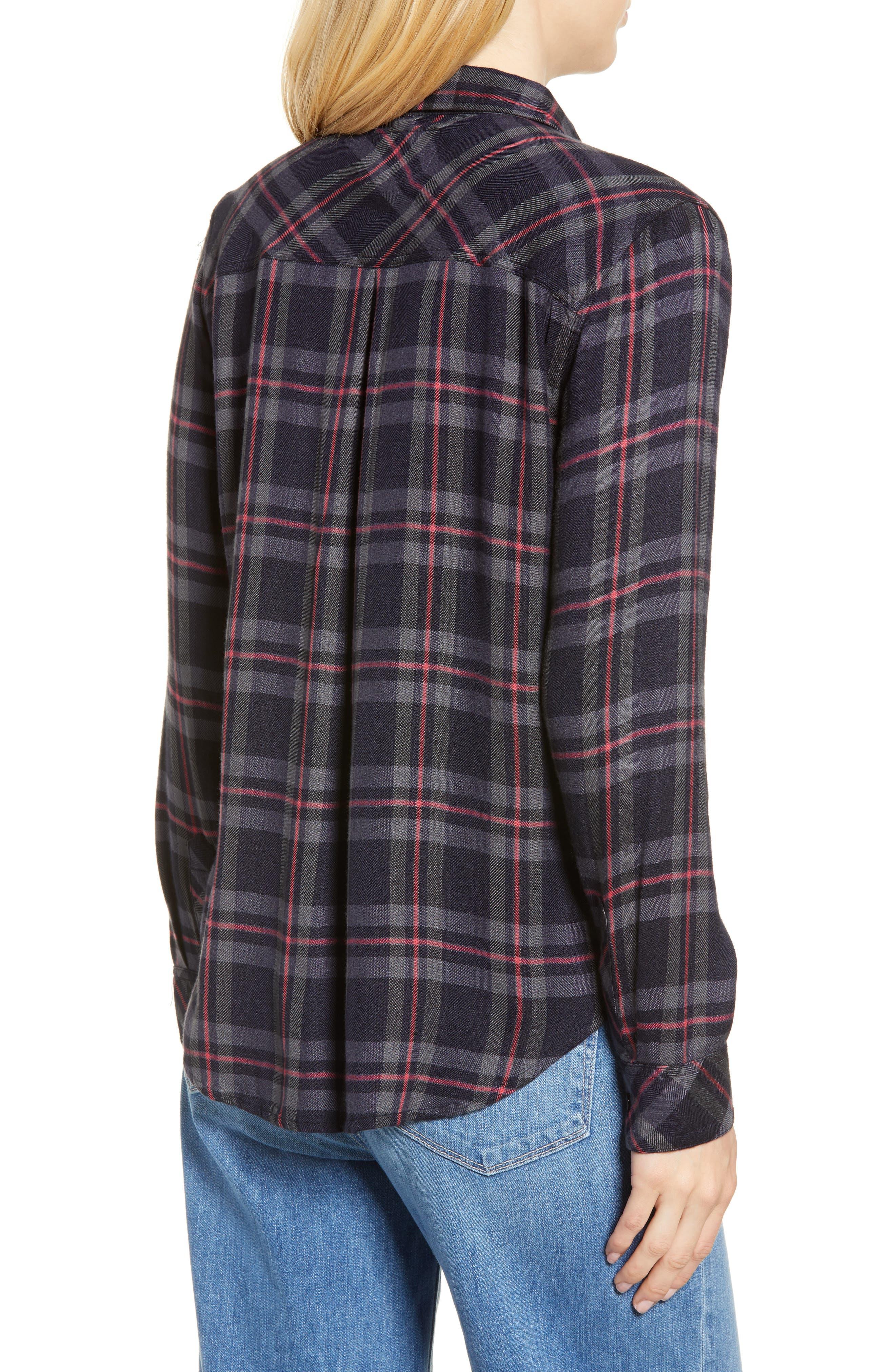 Hunter Plaid Shirt,                             Alternate thumbnail 161, color,