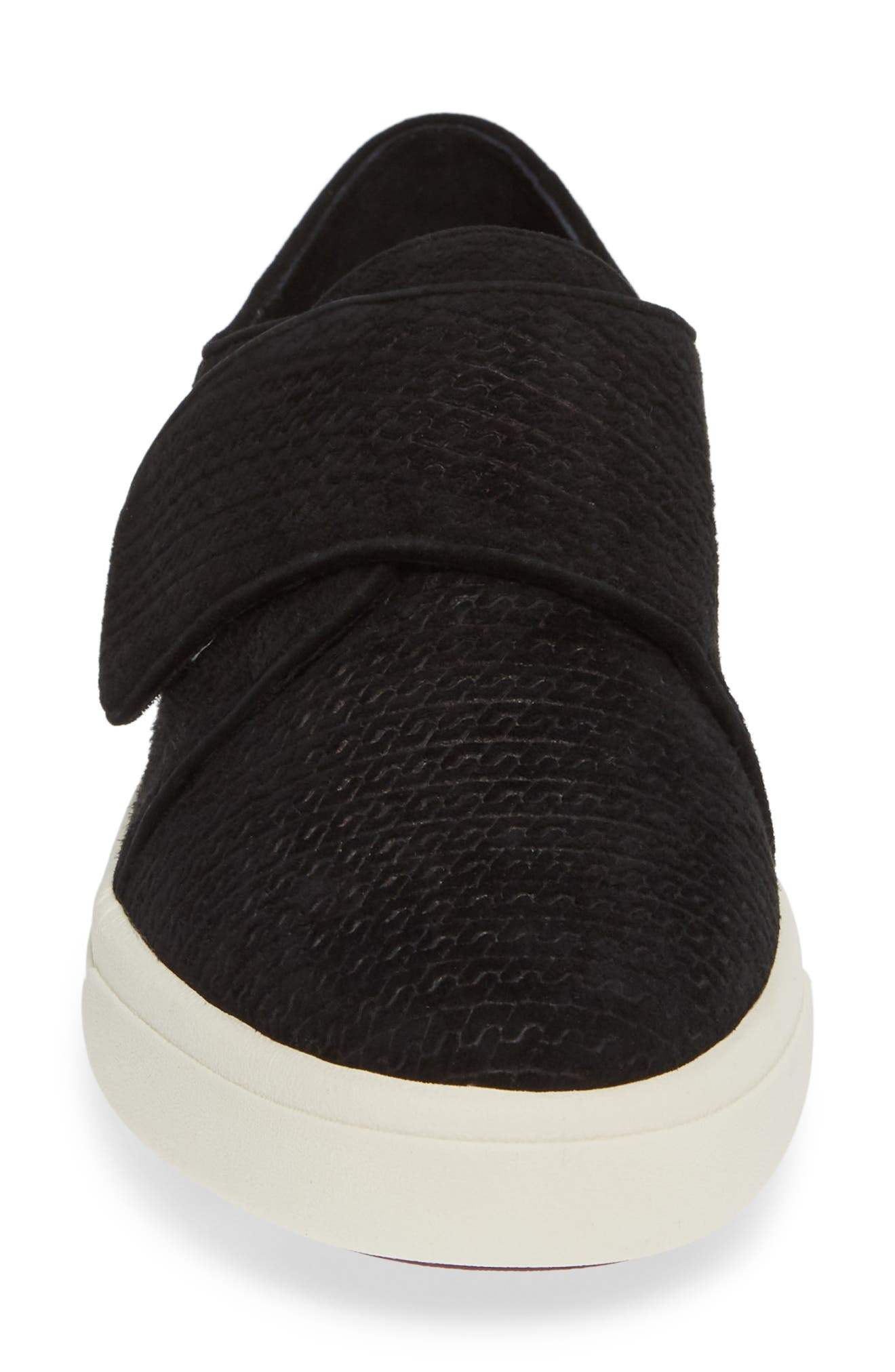 VANELI,                             Oberon Slip-On Sneaker,                             Alternate thumbnail 4, color,                             BLACK SUEDE