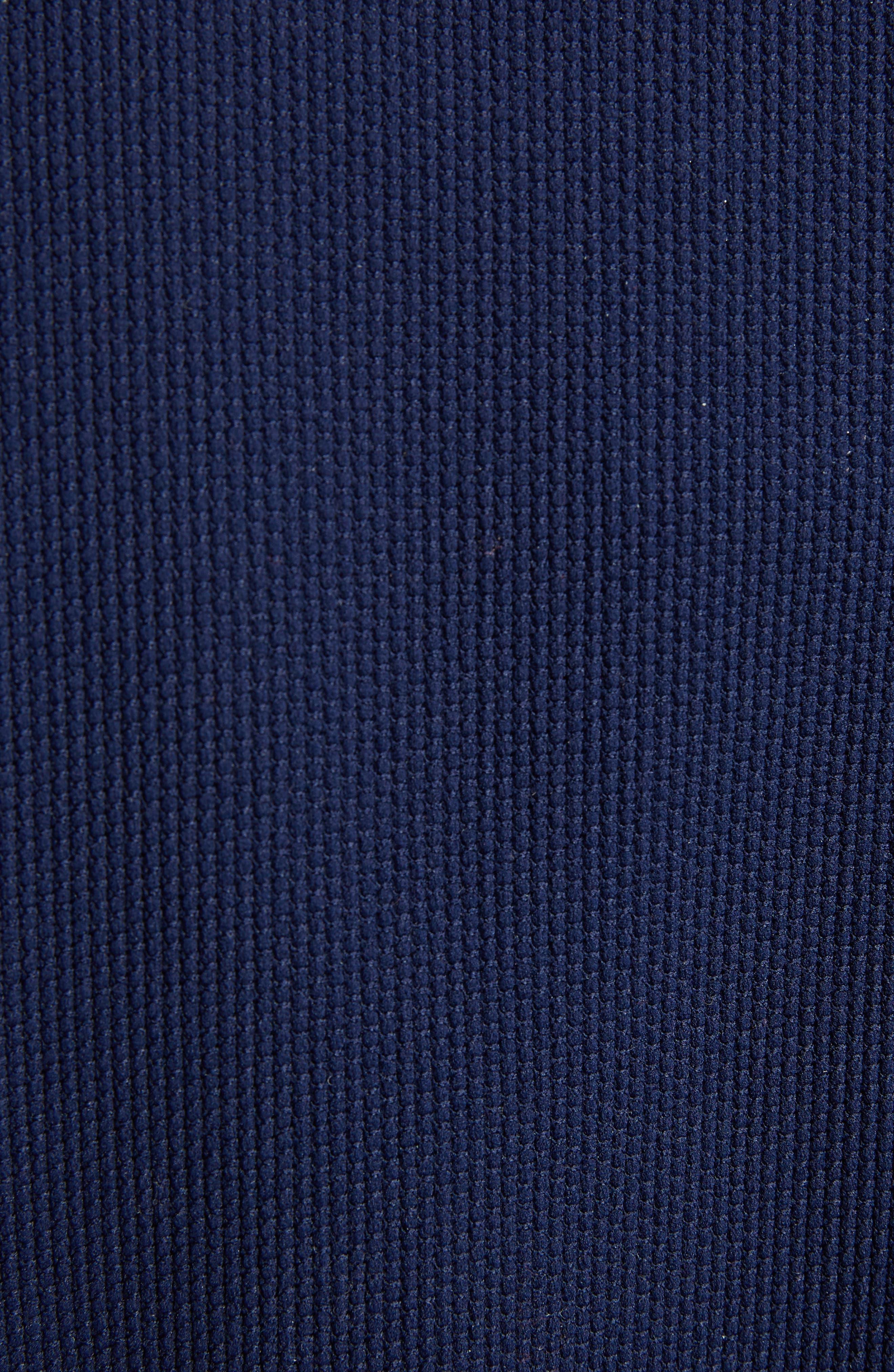 Colorblock Jacquard Knit Sweater,                             Alternate thumbnail 5, color,                             410