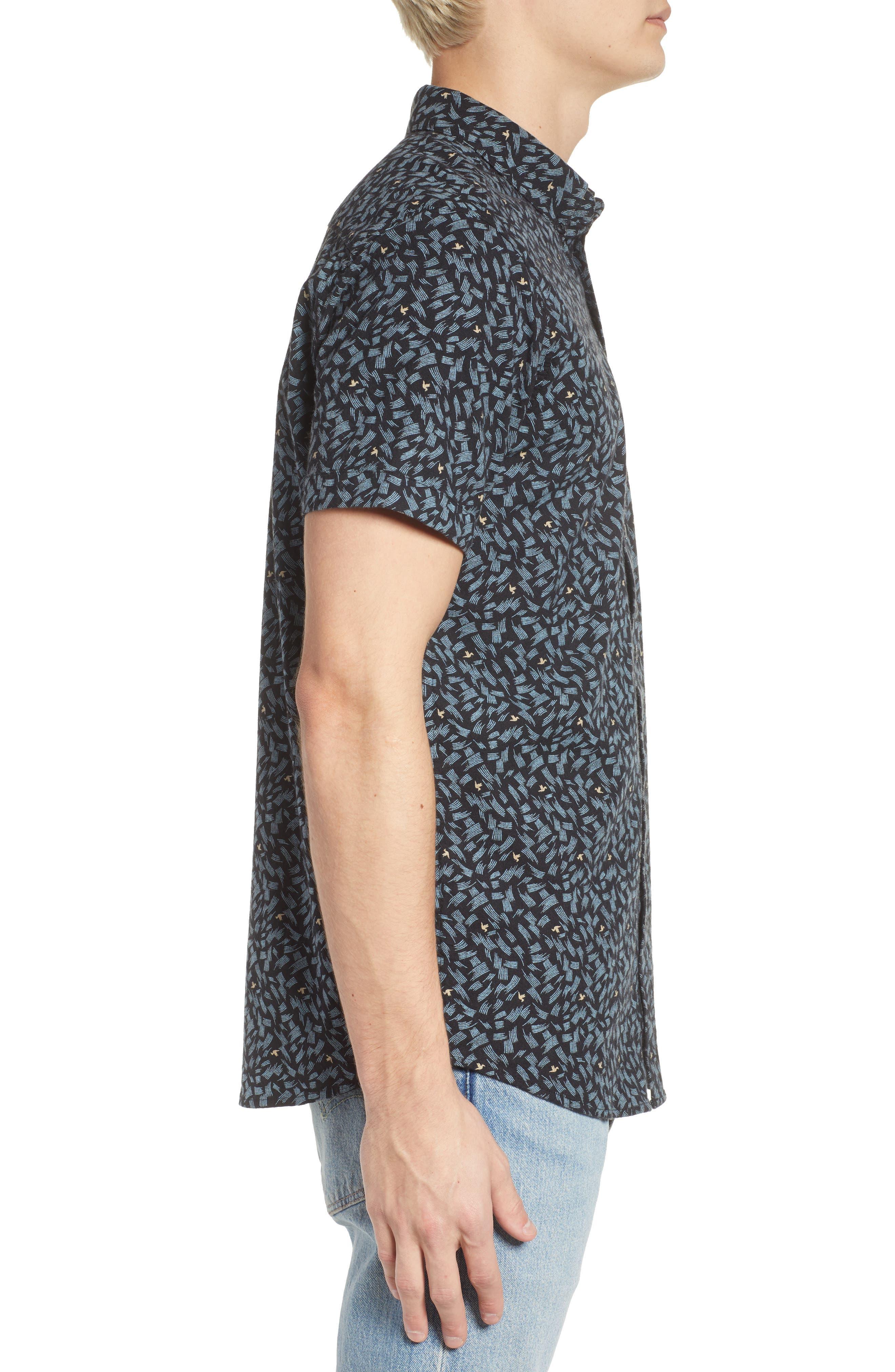 Northern Short Sleeve Shirt,                             Alternate thumbnail 3, color,                             001